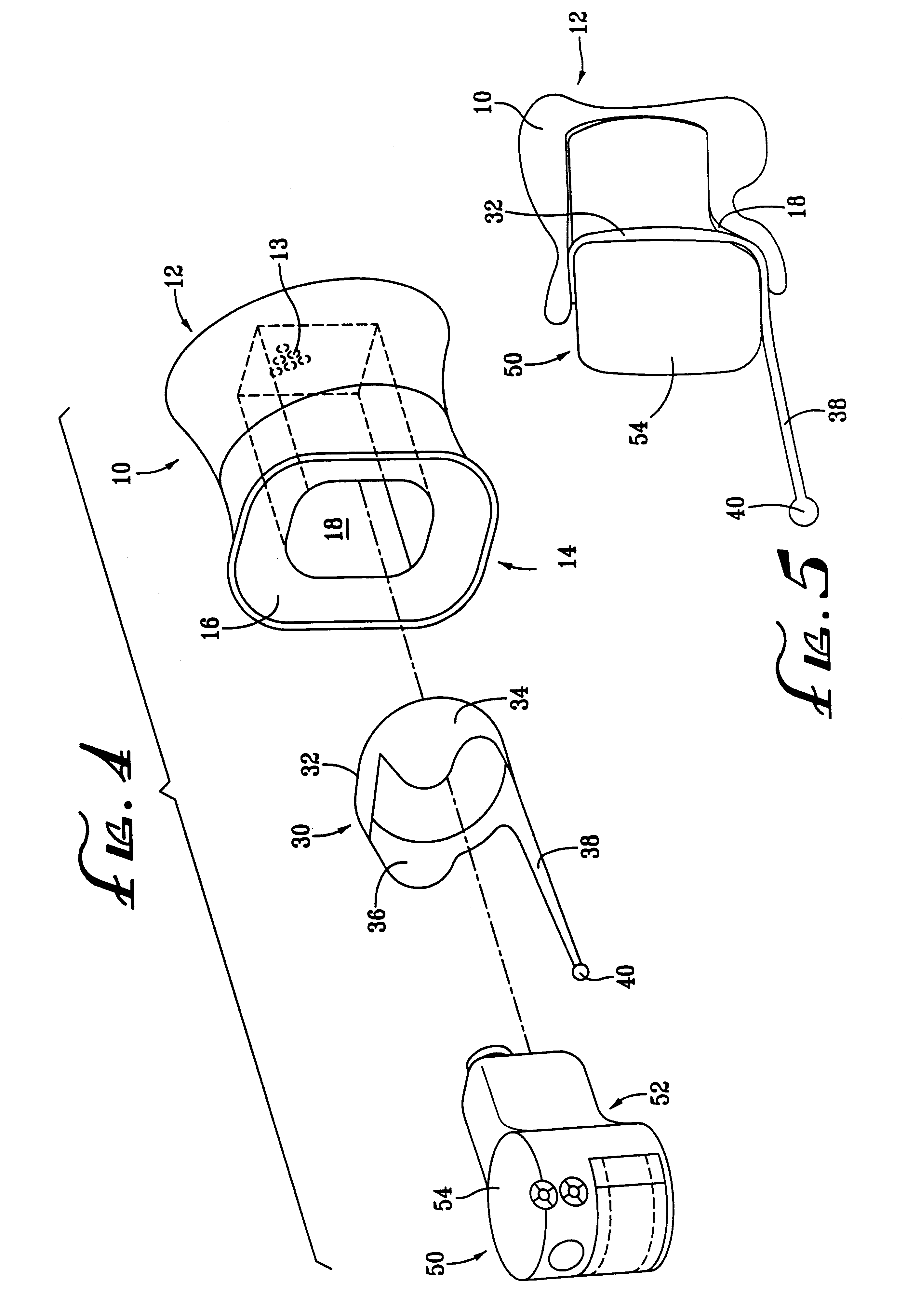 patent us6382346 - retention and extraction device for a hearing aid