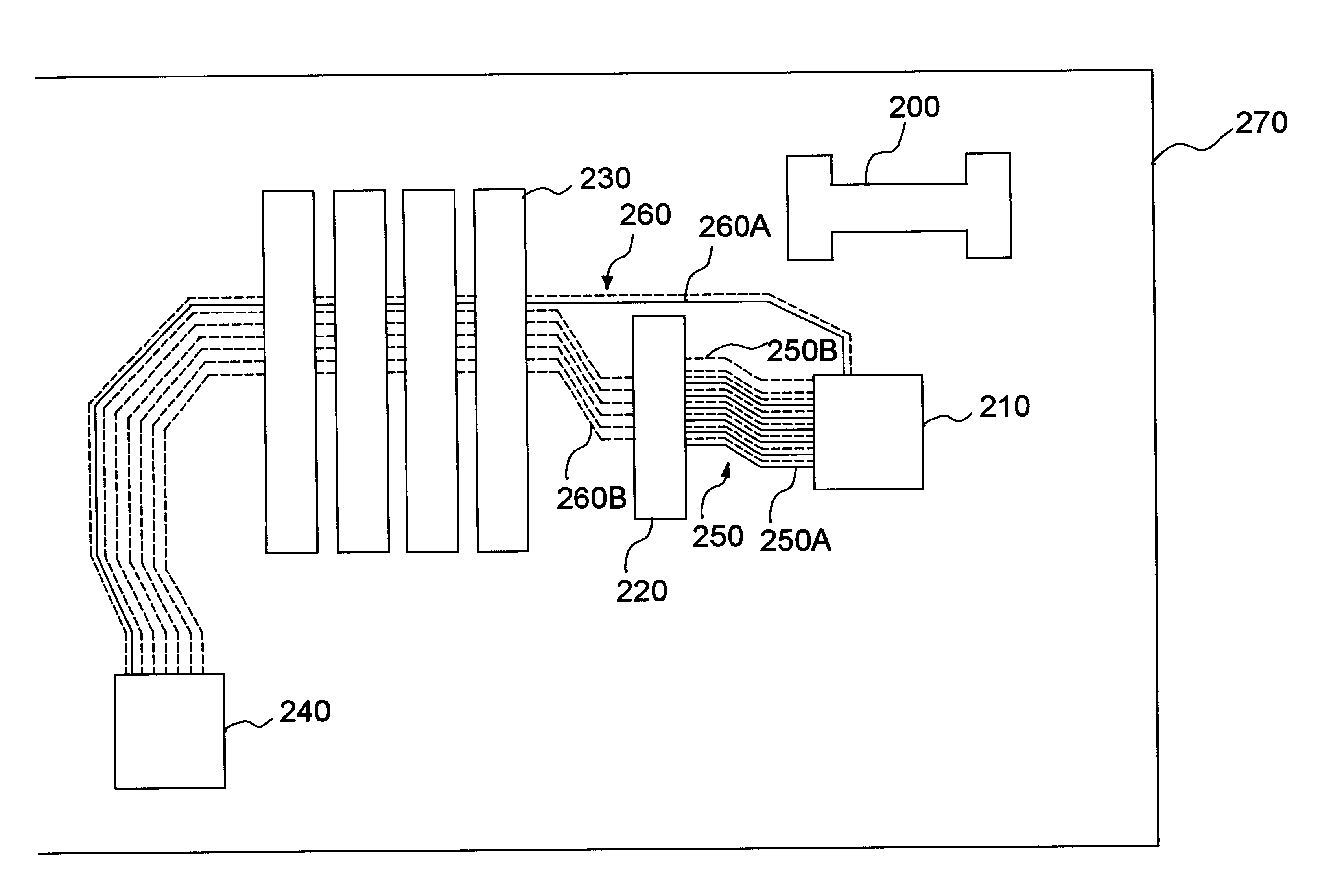 patent us6384346 - trace layout of a printed circuit board with agp and pci slots