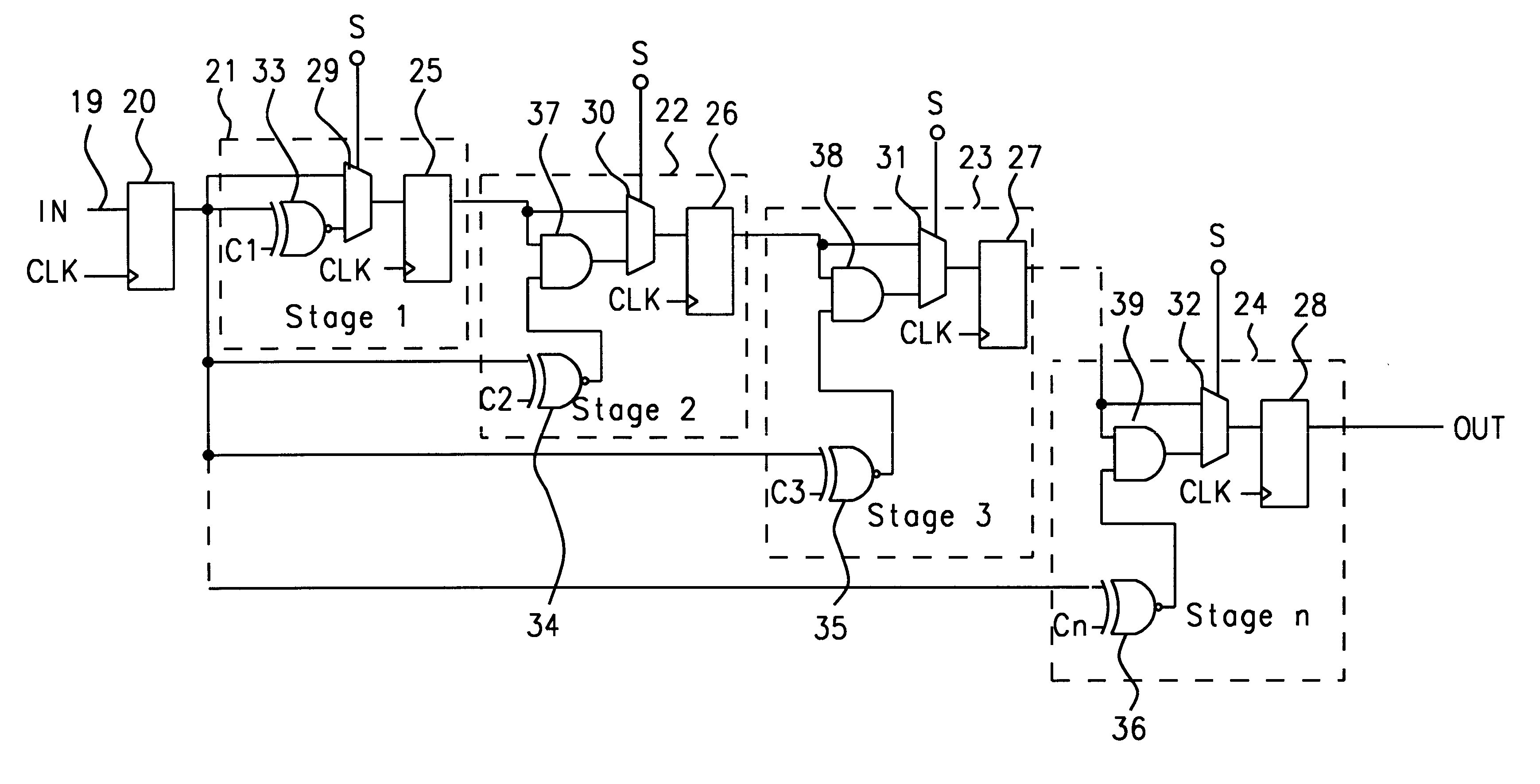 Patent Us6384713 Serial Comparator Google Patenti 3 Bit Magnitude Logic Diagram Drawing