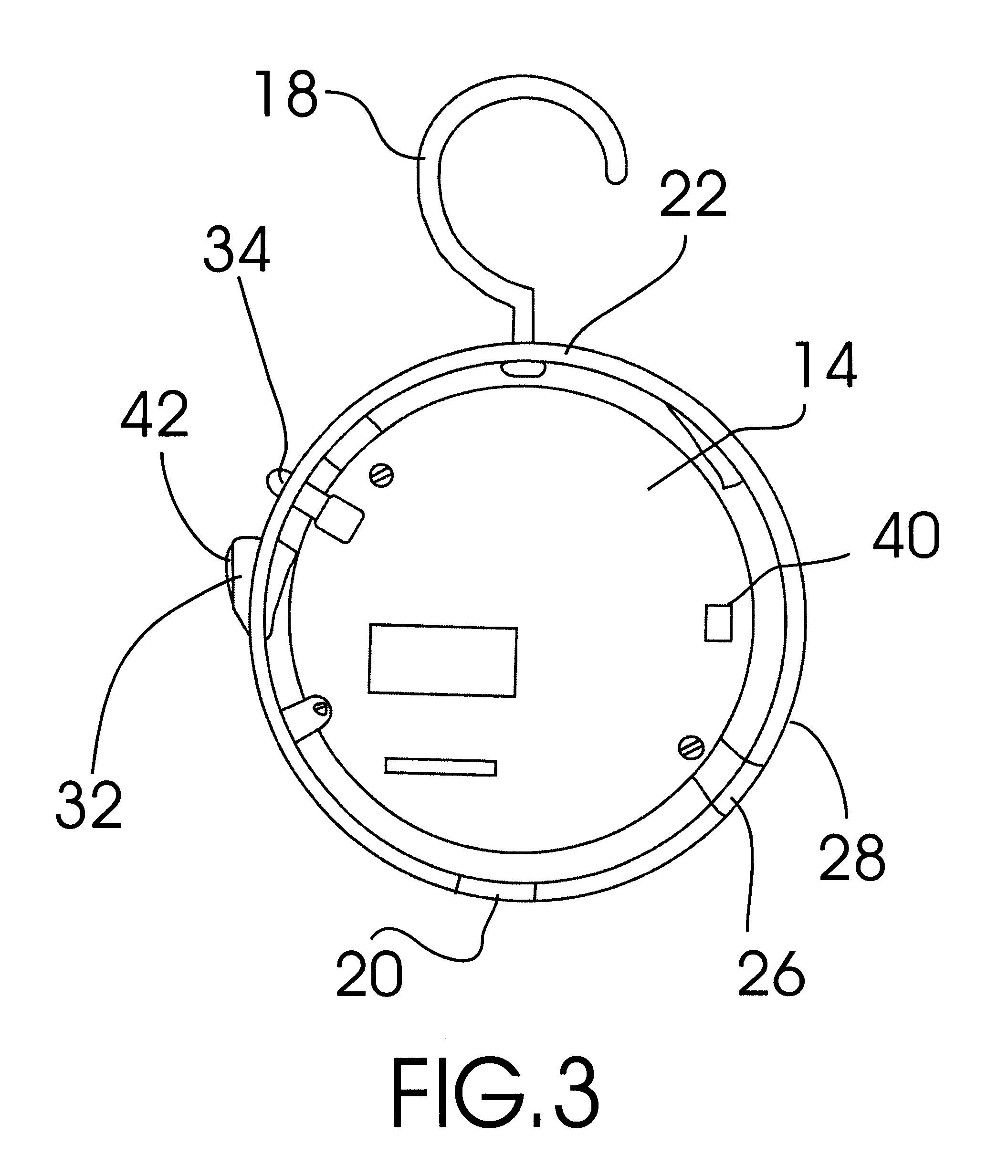 patent us6384732 - christmas tree smoke detector