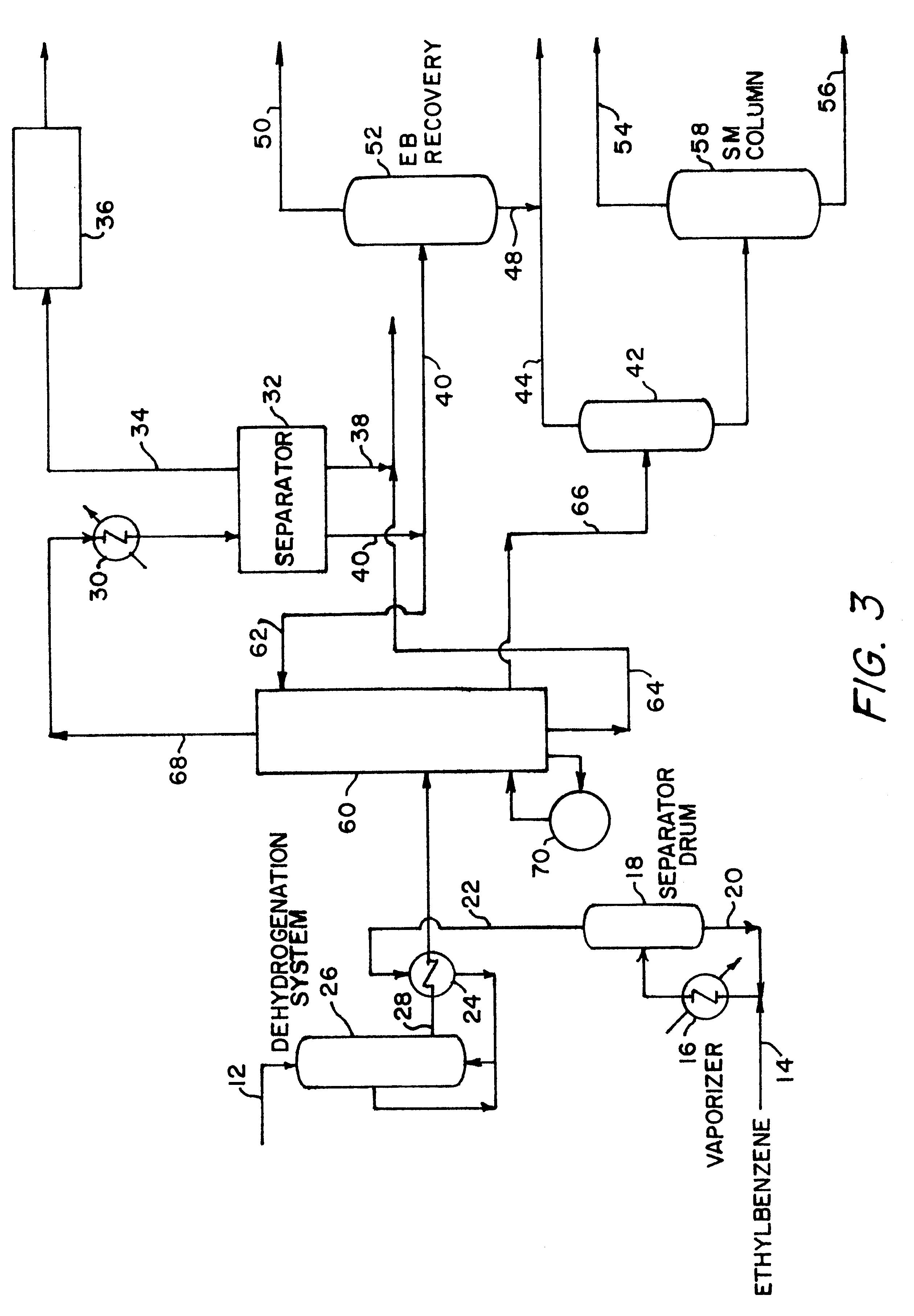 Patent Us6388155 Styrene Dehydrogenation Reactor