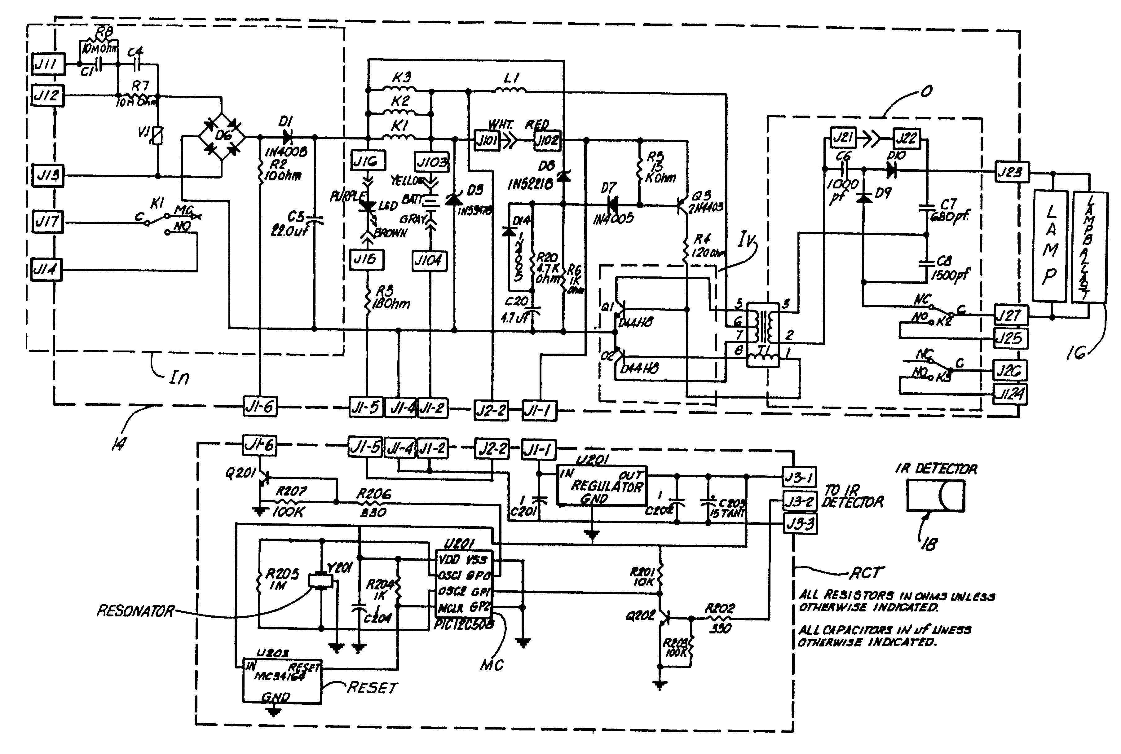 beam detector wiring diagram with Us6392349 on US6392349 as well Engineeronadisk 58 likewise Gas Detection Systems in addition Infrared Beam Barrier Proximity Sensor Circuit besides Smoke detector.