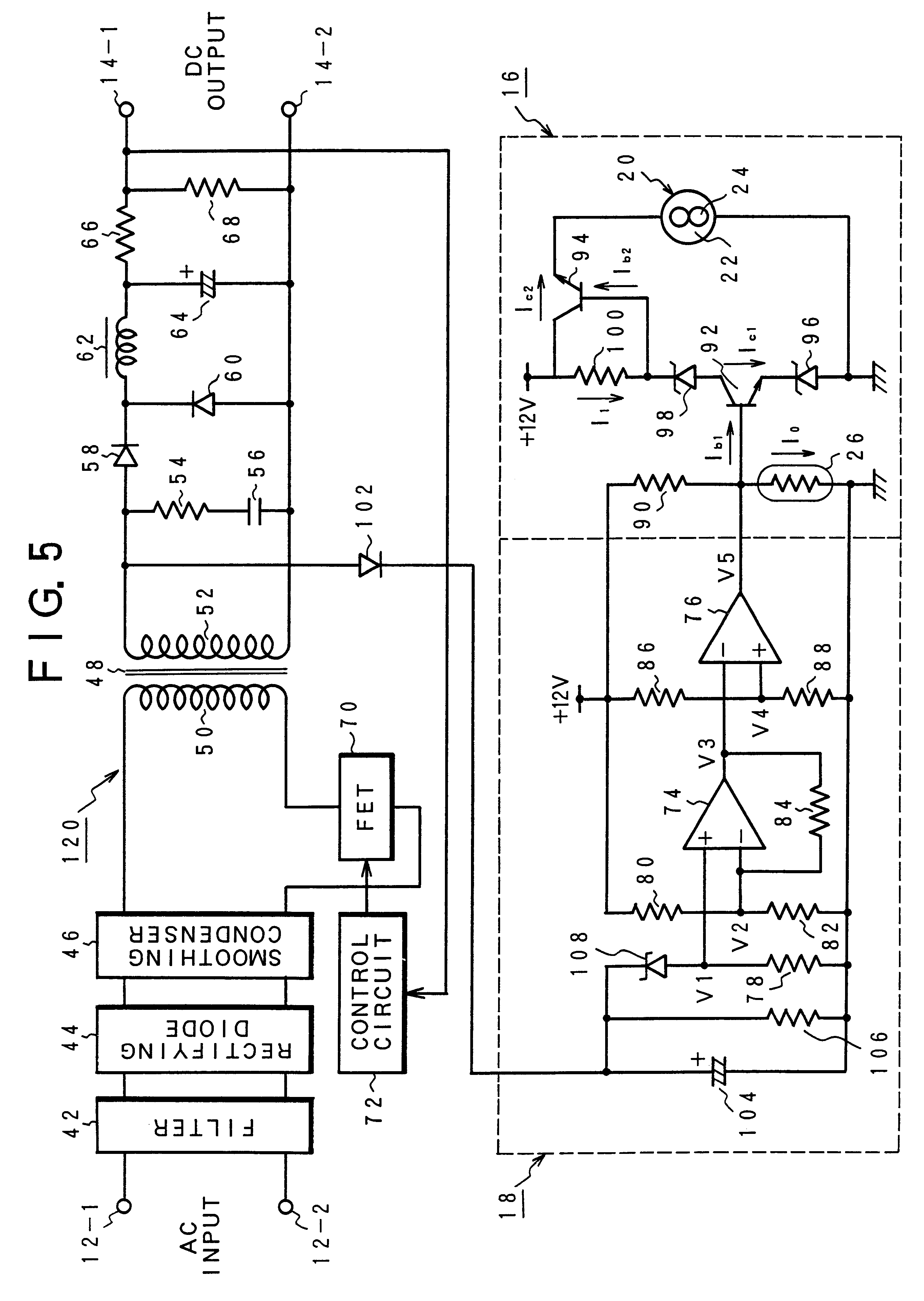 Patent Us6400045 Cooling Fan Controller Google Patentsuche The Time Delay Circuit With A Fet Controlcircuit Diagram Drawing