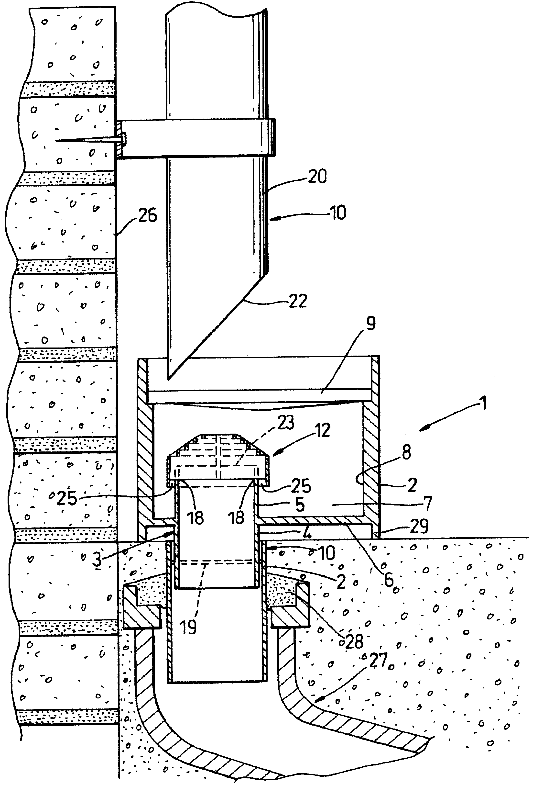 Patent Us6406620 Rainwater Filters And Gullies Google
