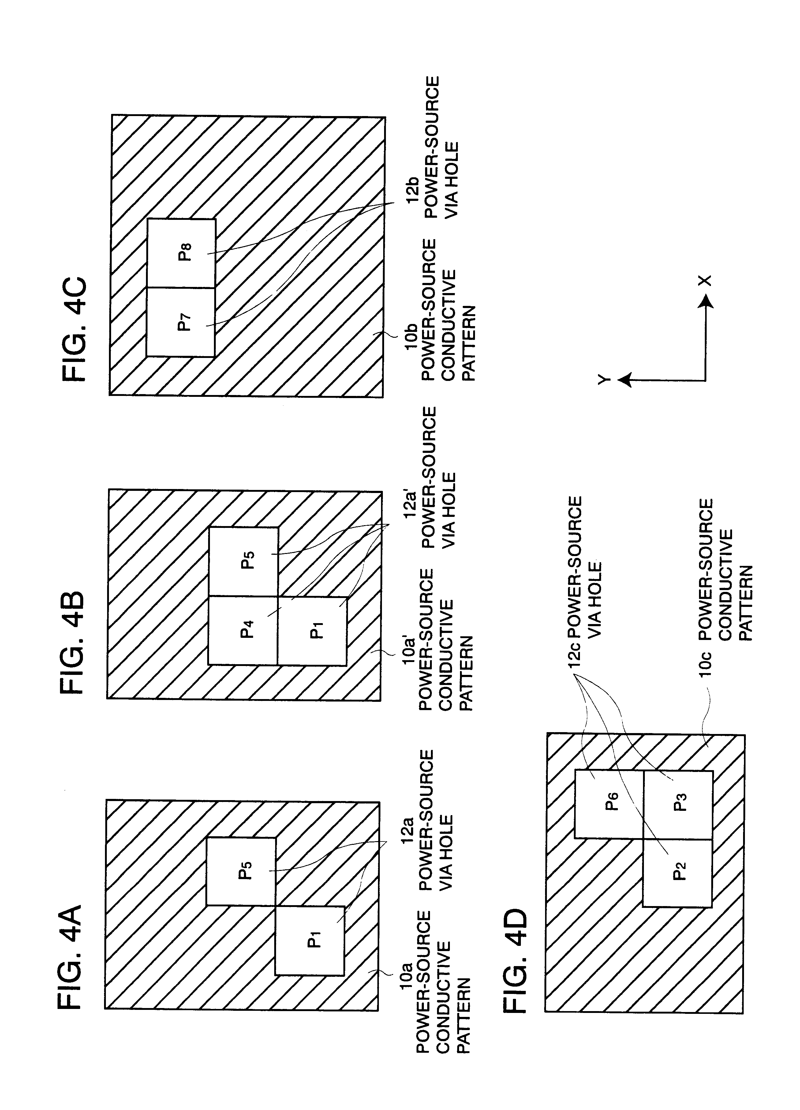 patent us6407343 - multilayer wiring board