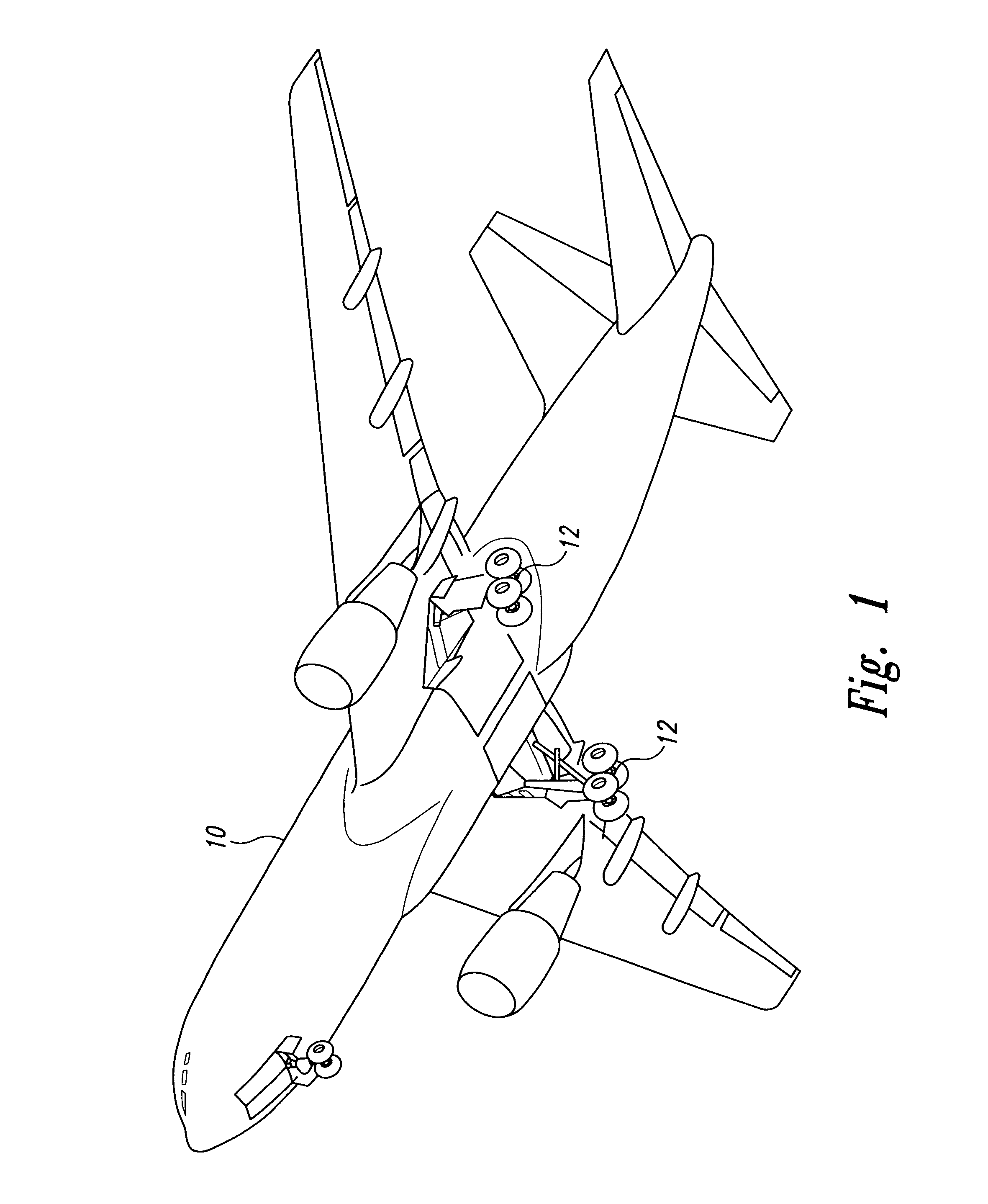 patent us6409121 in flight autolubrication system for the Stage Coach Schematics patent drawing