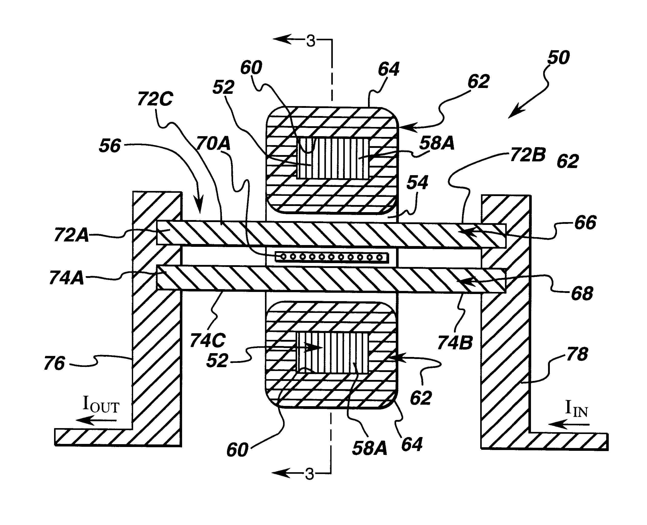 patent us6417661 - self powered current sensor