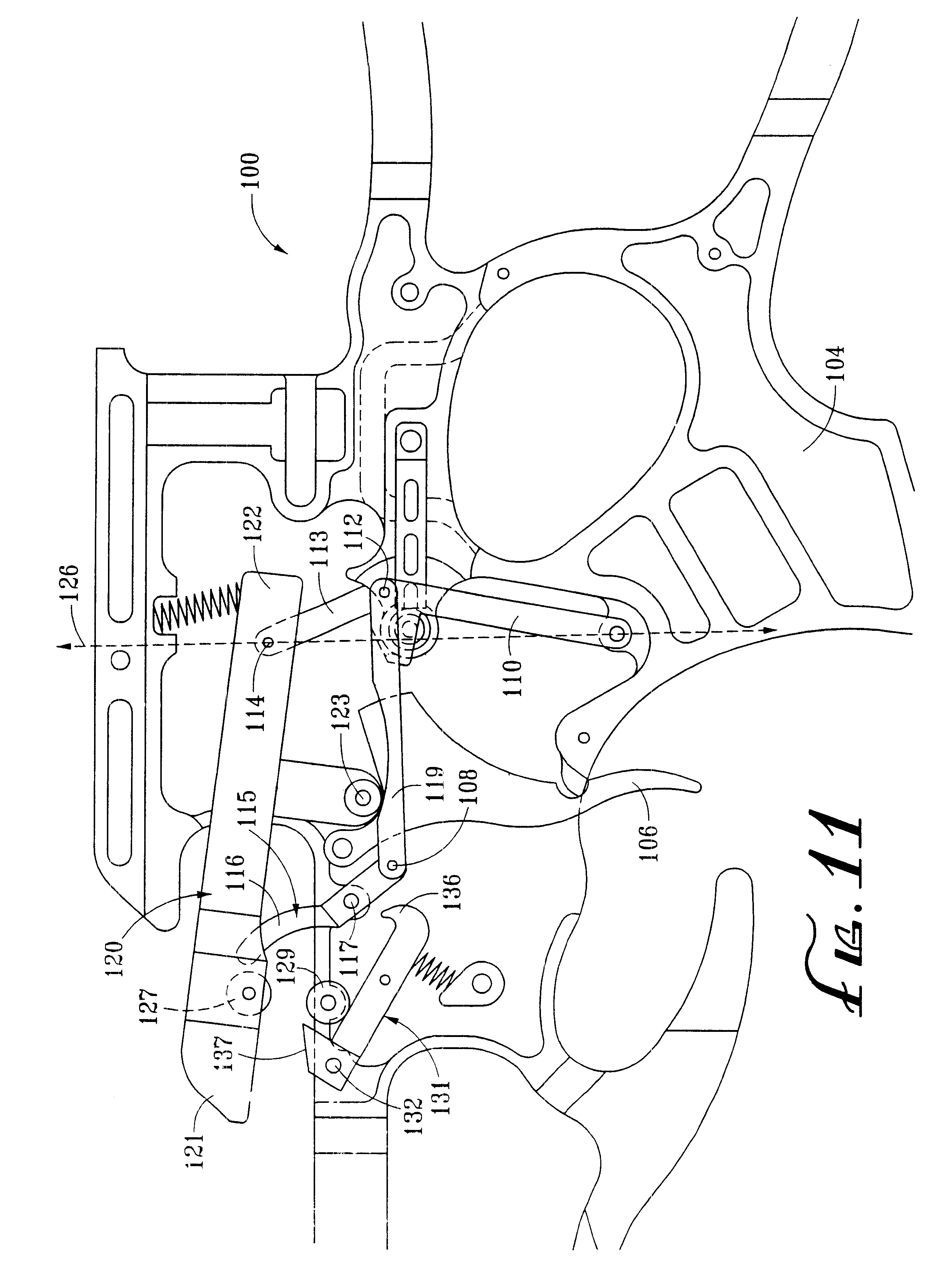 patent us6425386 bowstring release system for crossbows Crossbow Pattern patent drawing