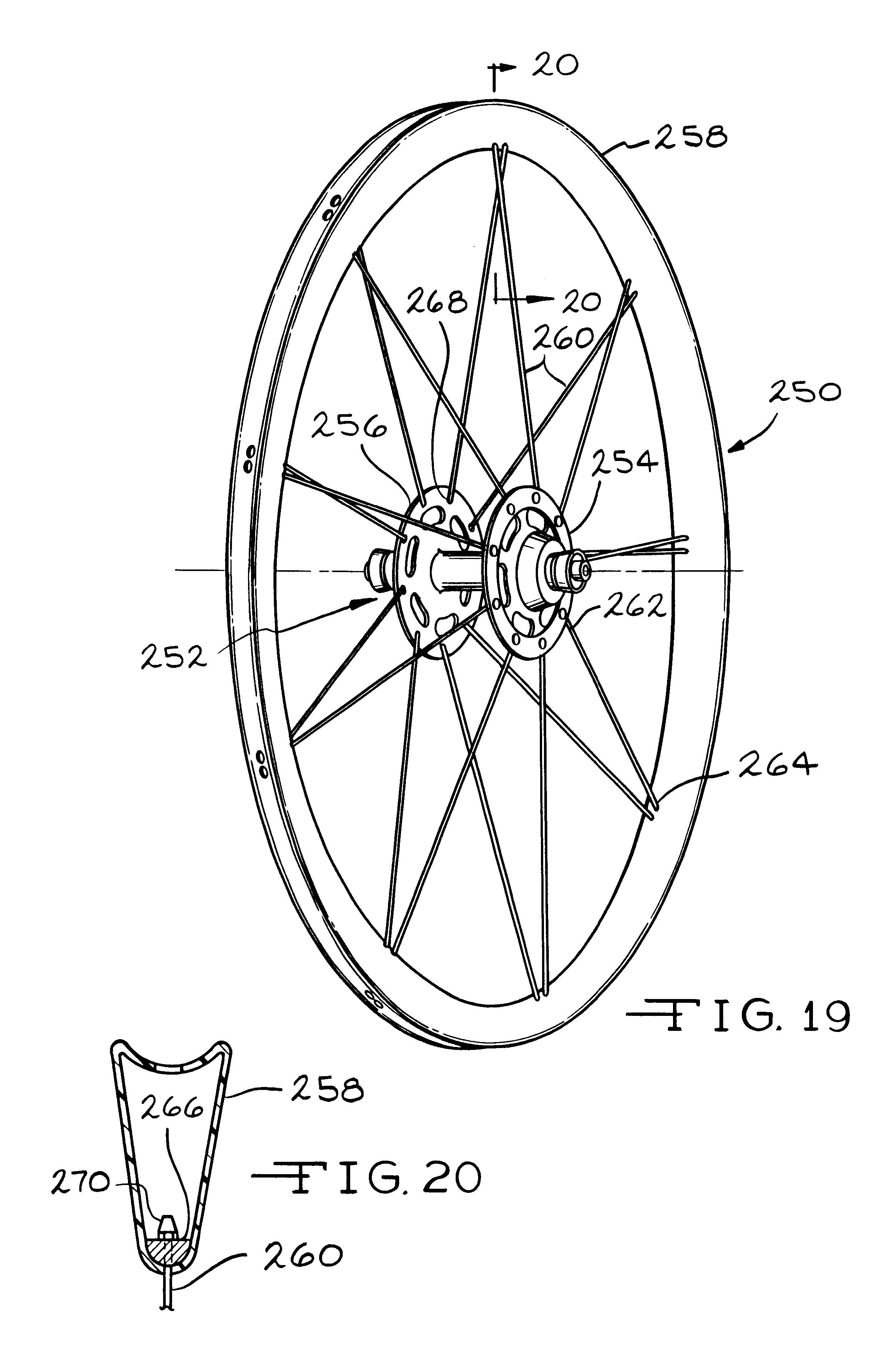 This is an image of Légend Bike Wheel Drawing