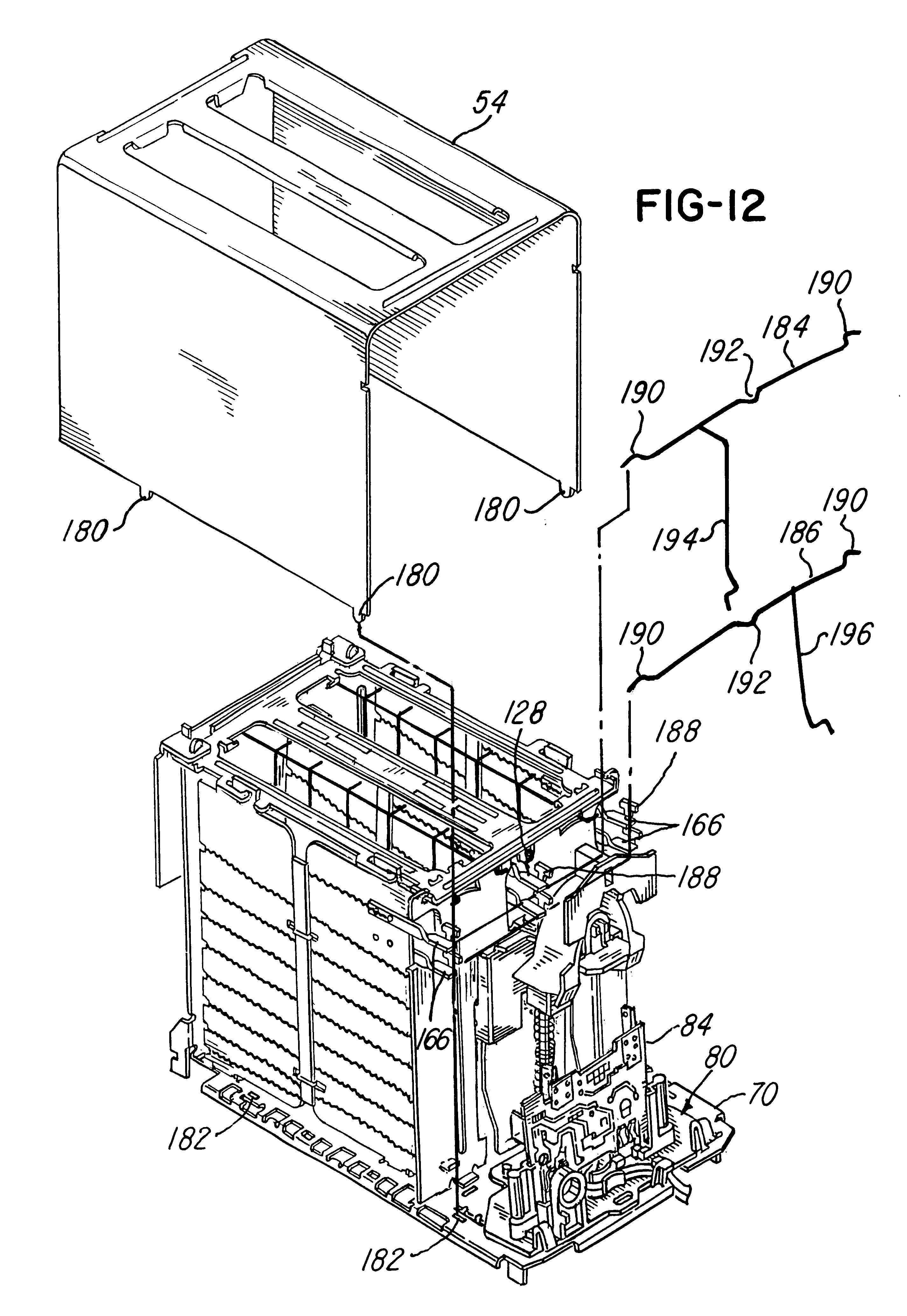 patent us6429407 - household electronic toaster
