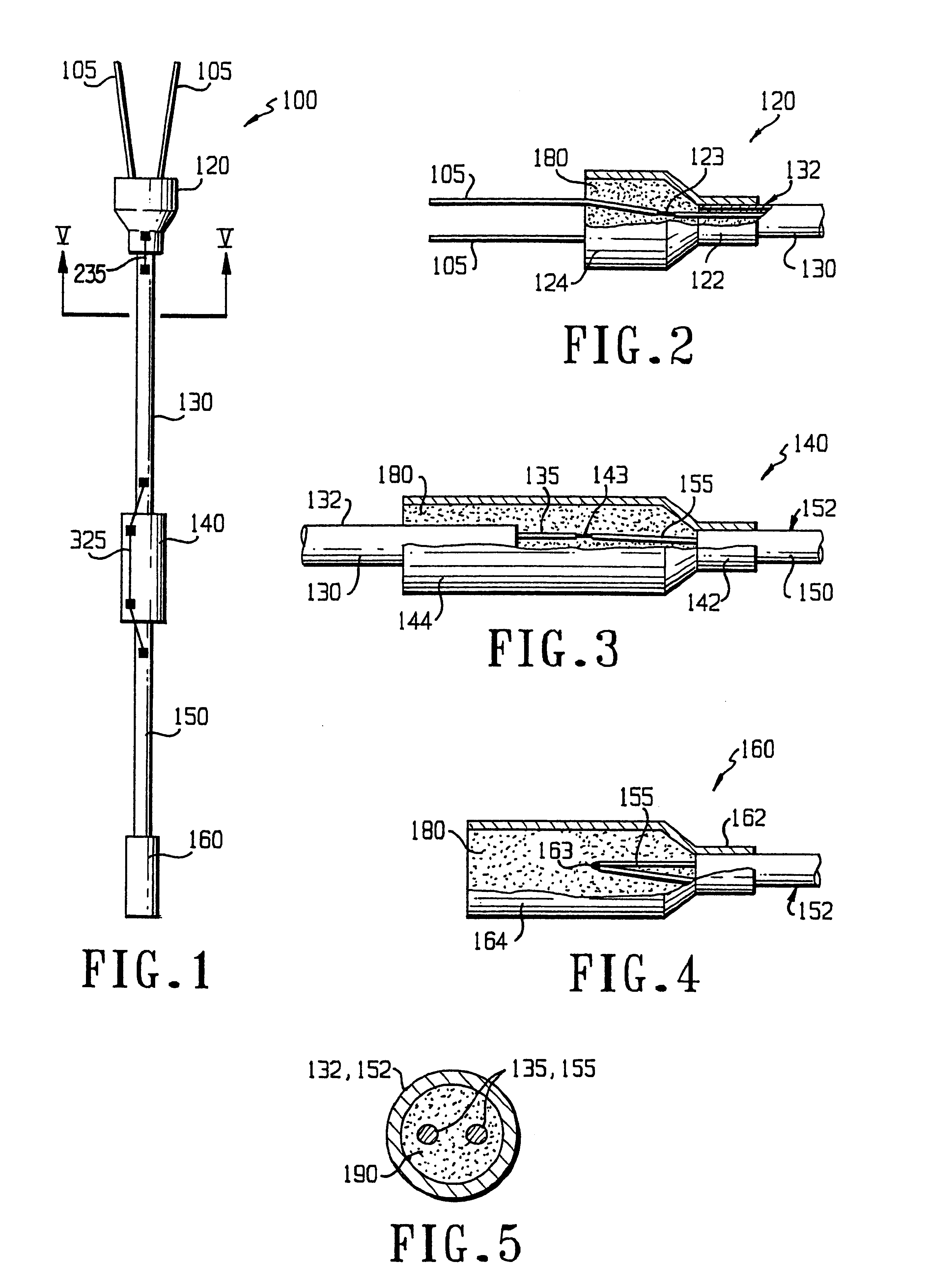 Patent Us6437246 Termination Coupling For Mineral