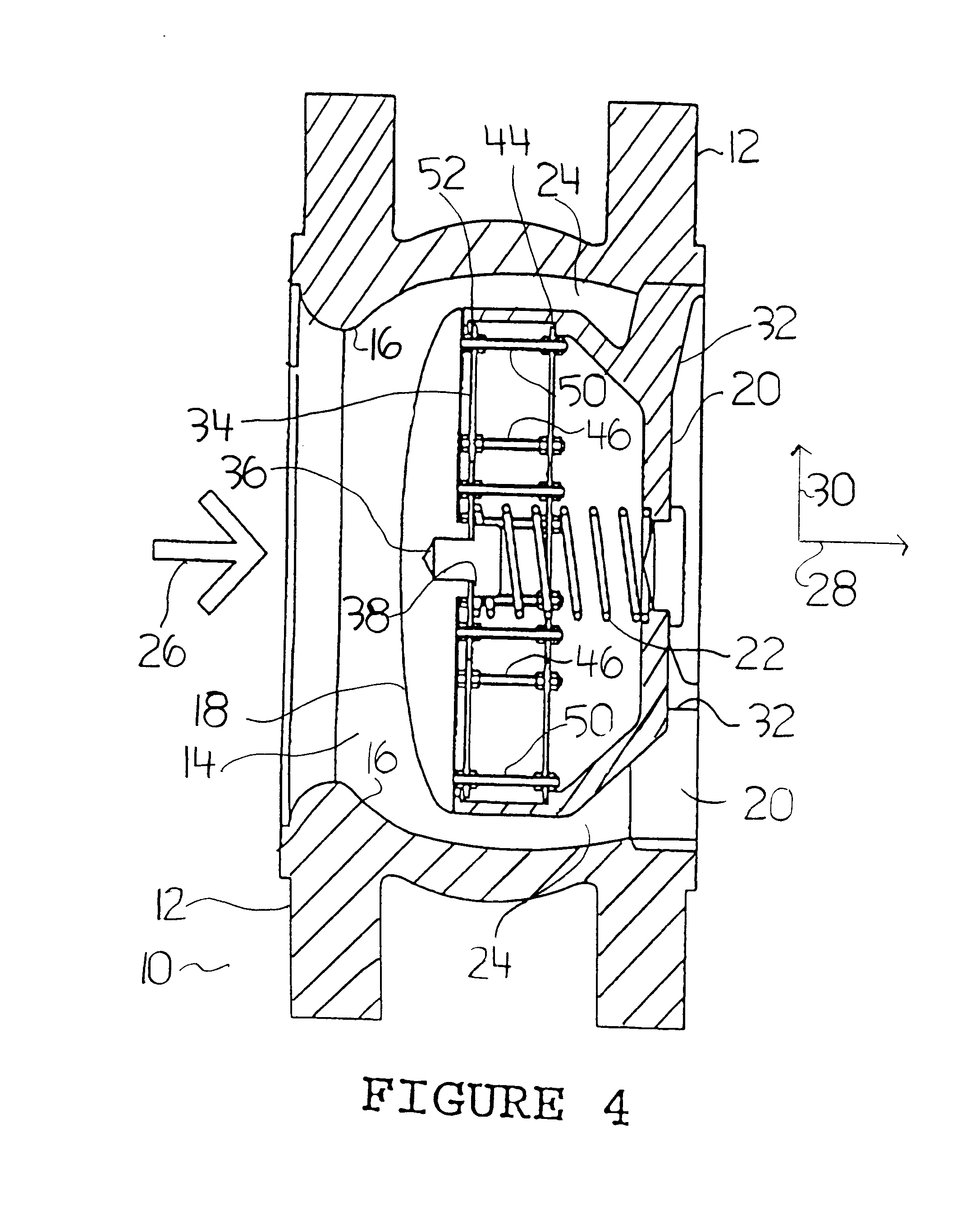 Patent US6443183 - Valve and assembly for axially movable