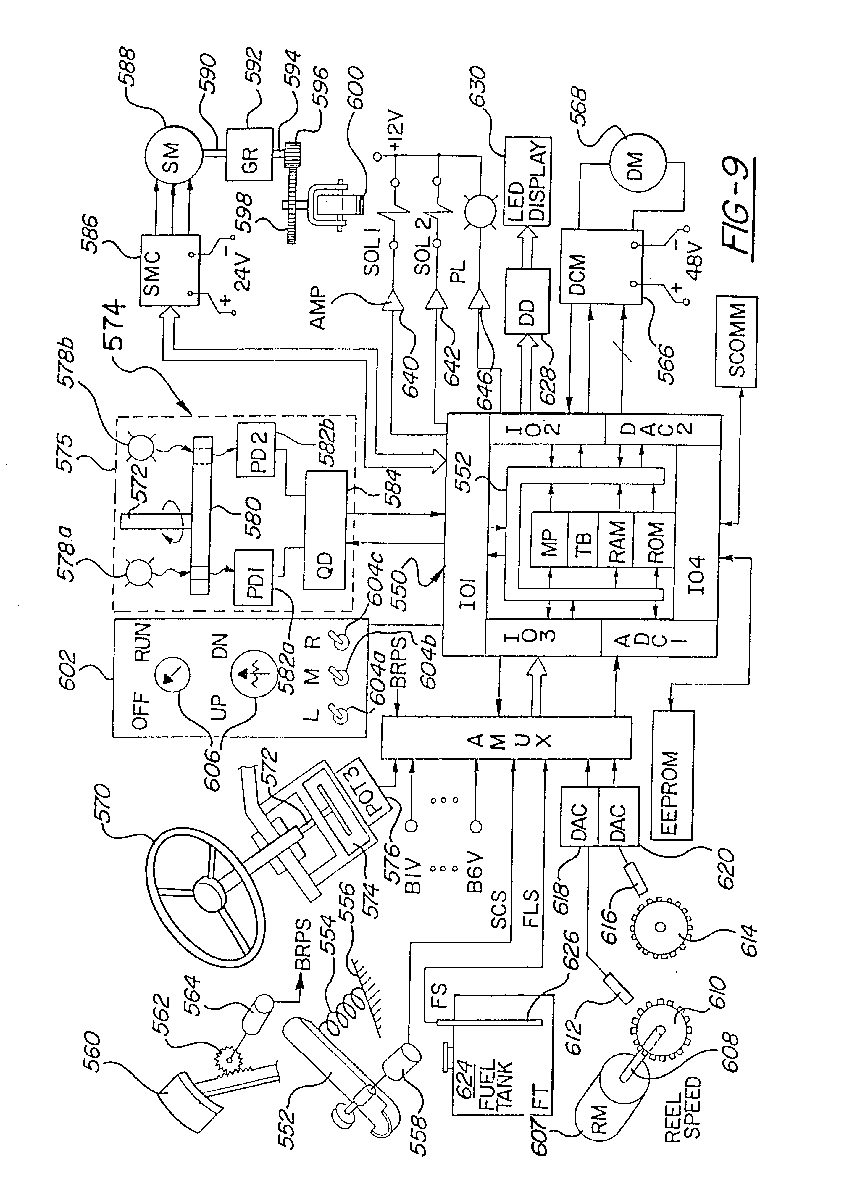Patent Us6449934 Electric Riding Mower With Motor Generator Set Drive System Diagram Parts List For Model 604 Mtdparts Ridingmower Drawing
