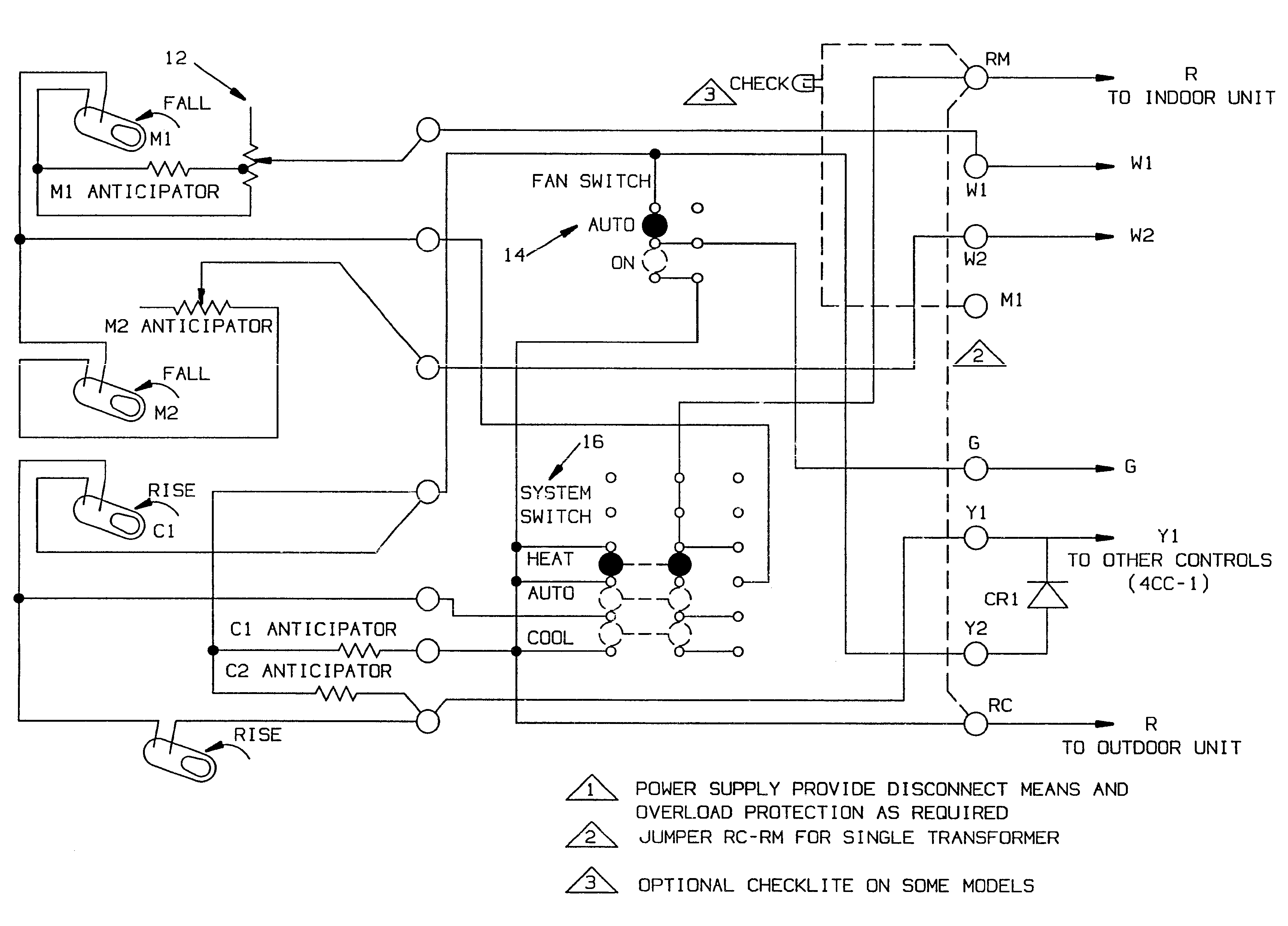 patent us method and apparatus for wiring room thermostat patent drawing