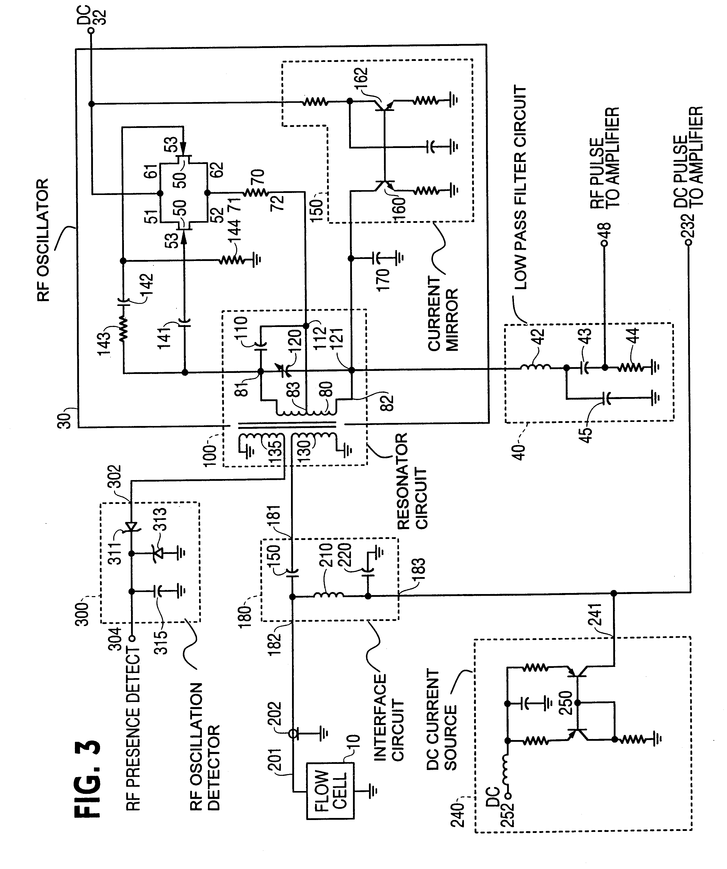patent us6452372 - duet jfet rf oscillator-detector for flow cytometer