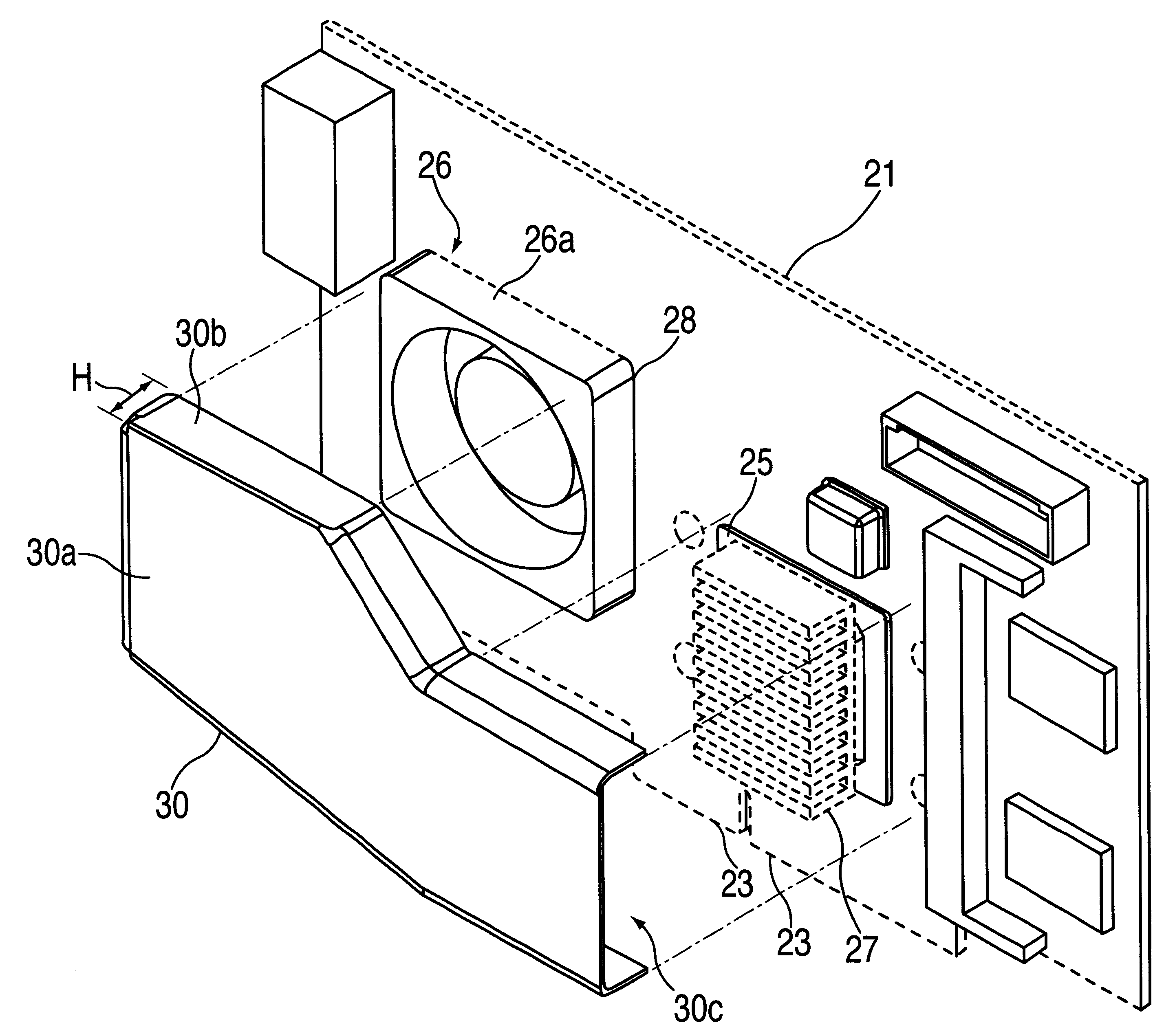 patent us6452797 fan cooled card patents Nokia Lumia 510 patent drawing