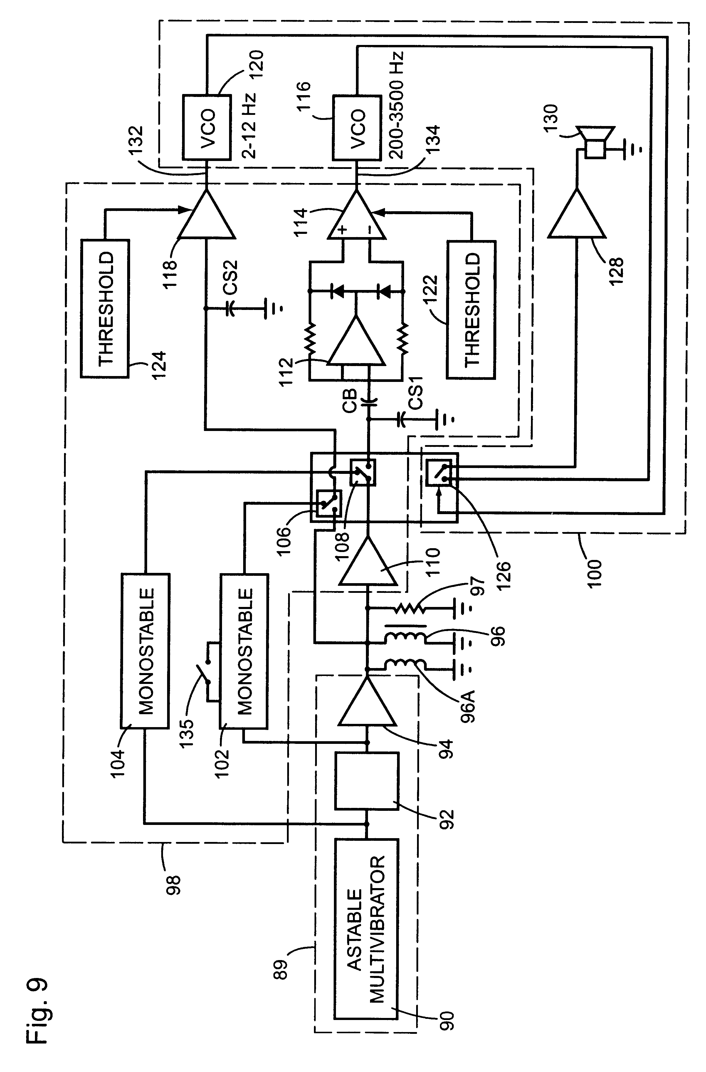 Patent Us6456079 Circuit For Detecting The Metal Type Of A Pulse Induction Detector As Well Drawing
