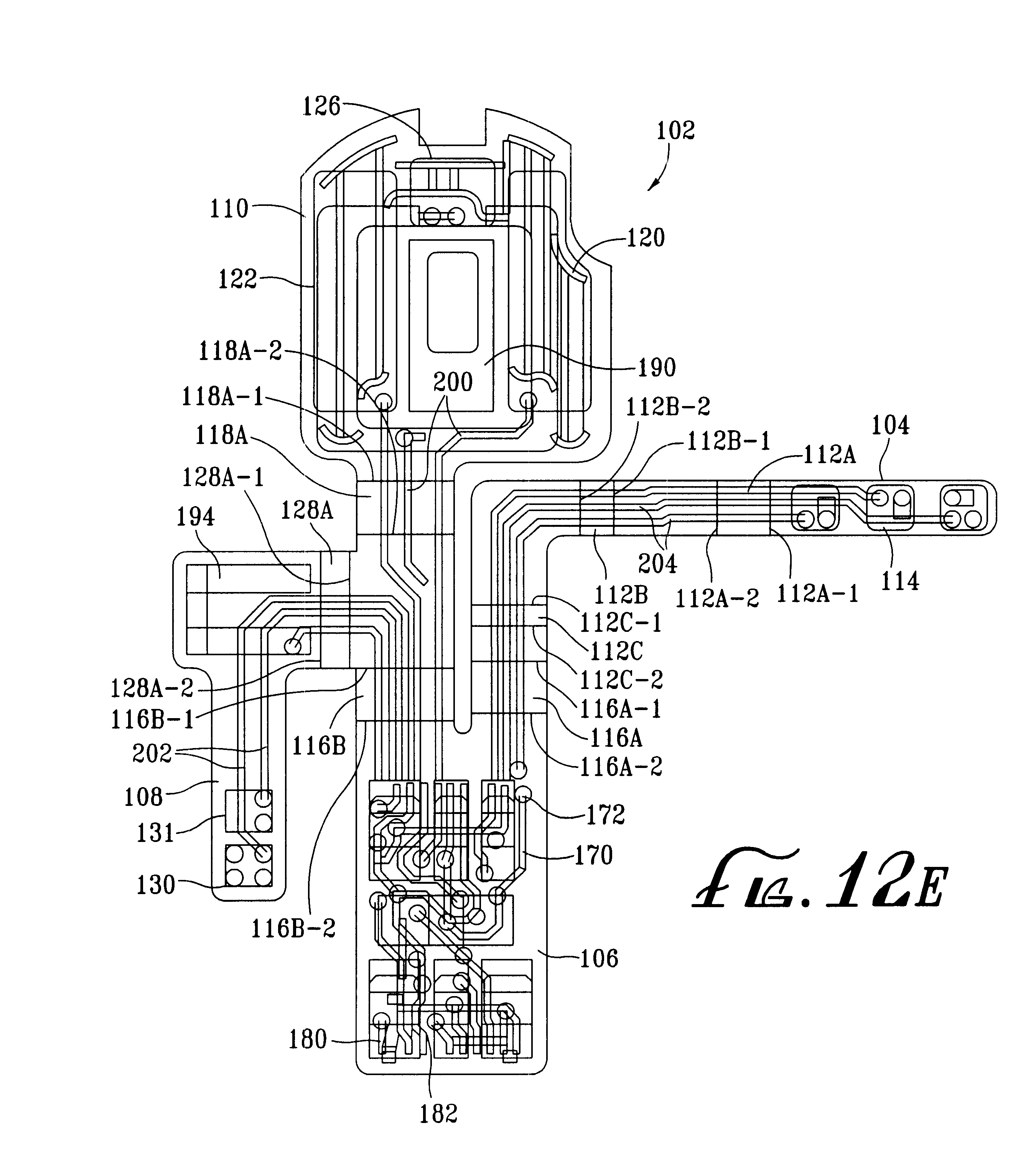 patent us6456720 - flexible circuit board assembly for a hearing aid