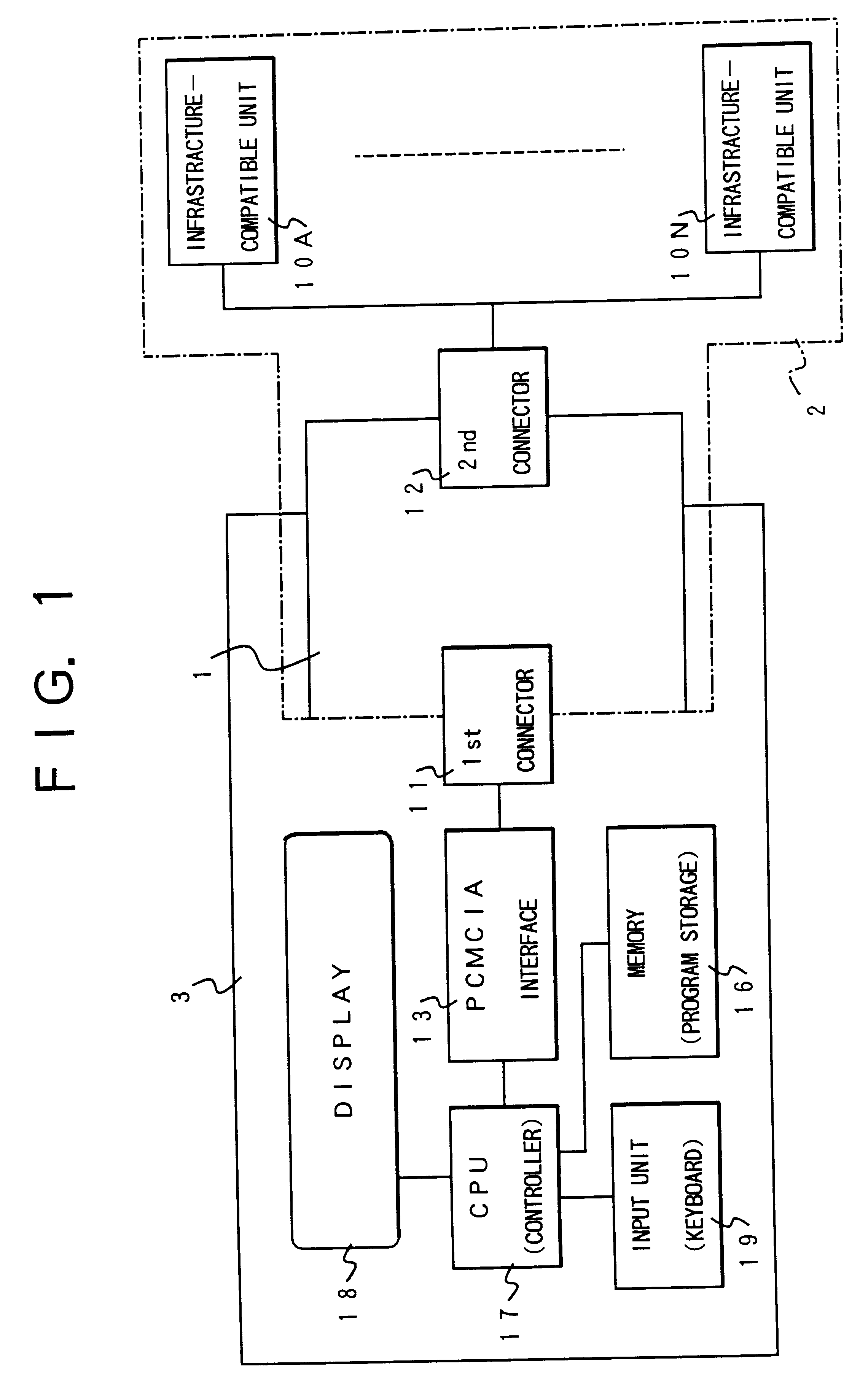 Patent Us6463095 Ic Card Radio Modem And Communication System Circuit Drawing