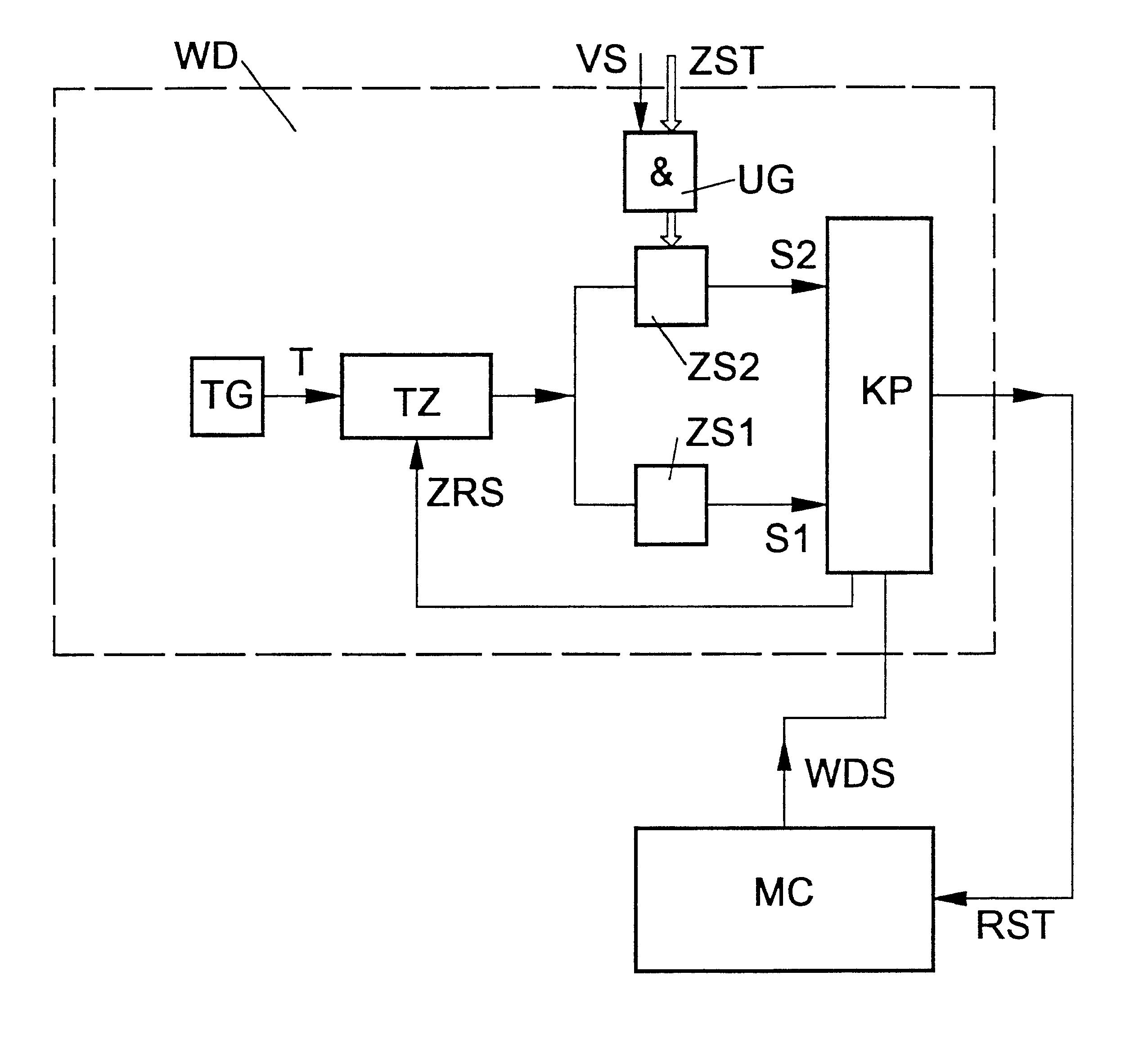 patent us6463555 - watchdog circuit