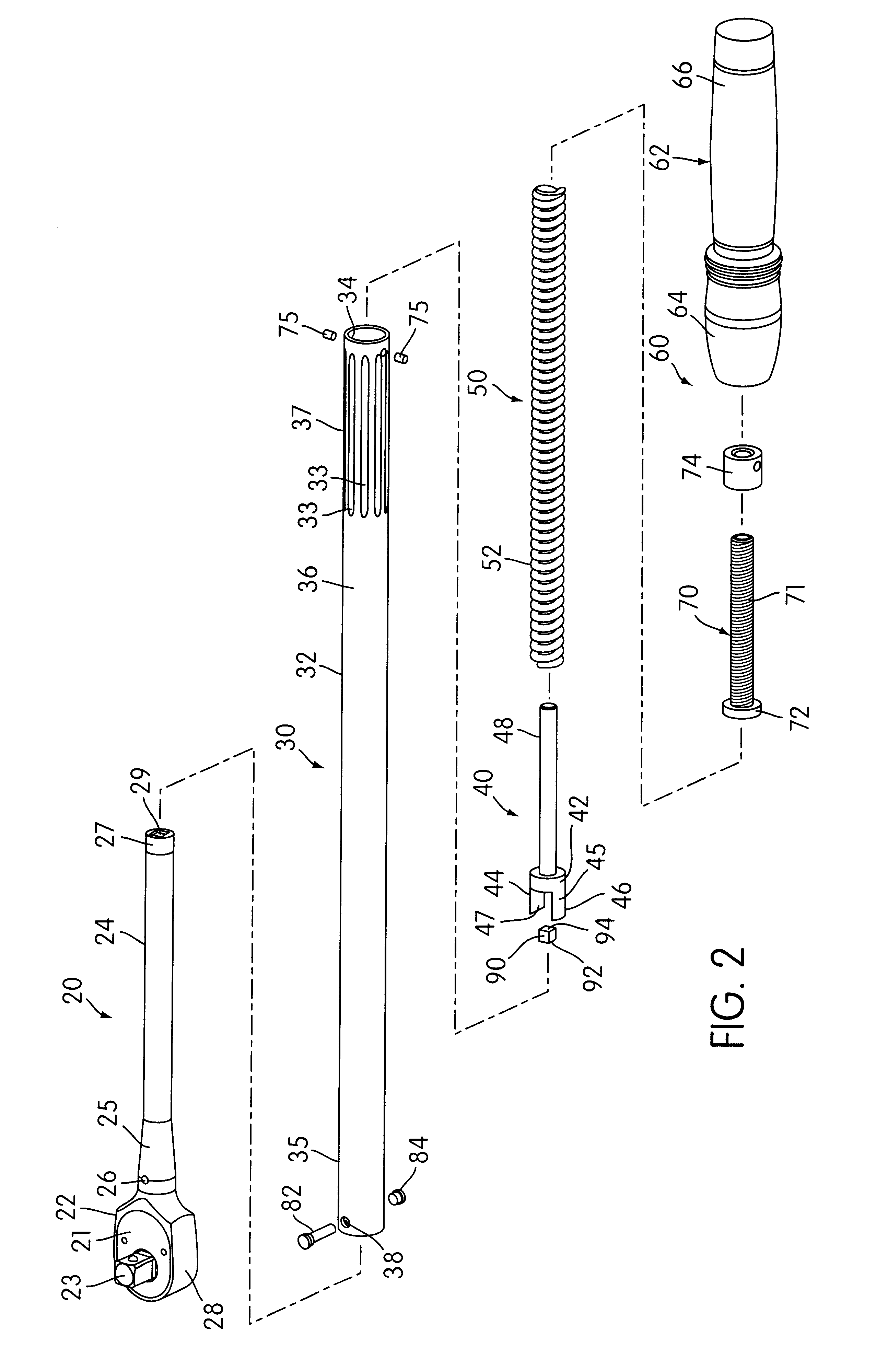 Patent US6463834 - Torque wrench - Google Patents