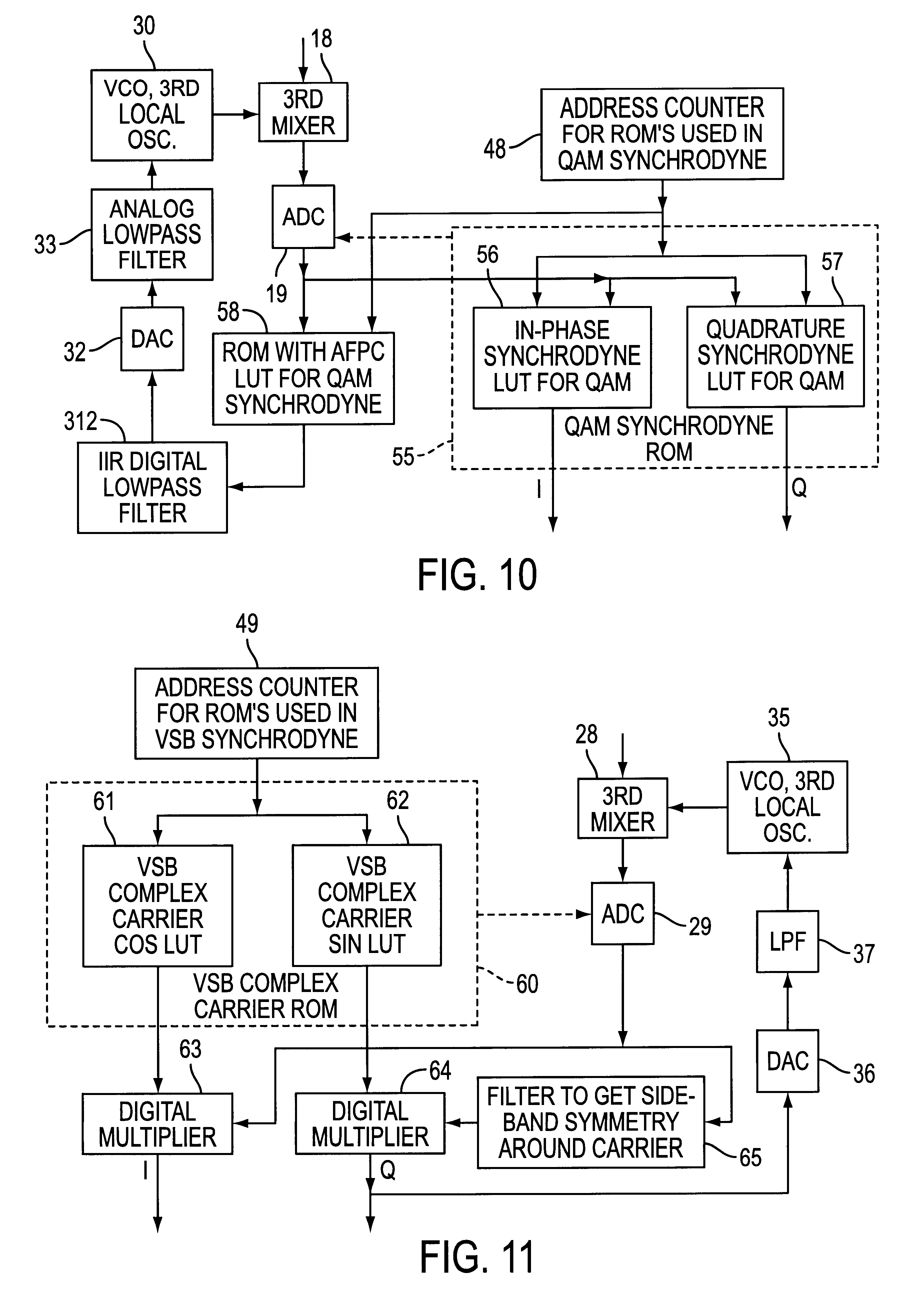 Patent Us6480236 Envelope Detection Of Pn Sequences Accompanying Detector Circuit Output Drawing
