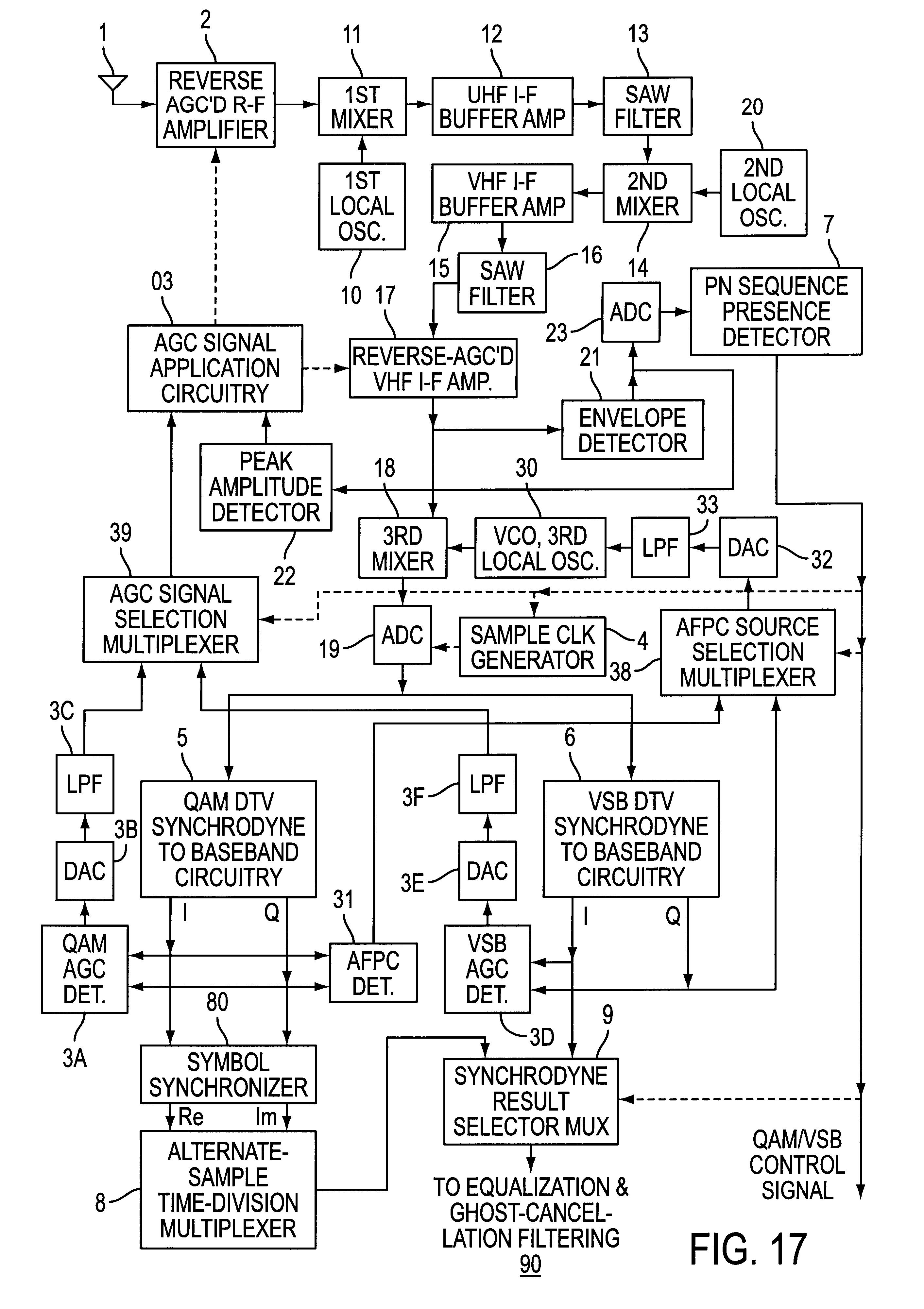Patent Us6480236 Envelope Detection Of Pn Sequences Accompanying Sensitive Detector Circuit Diagram Drawing