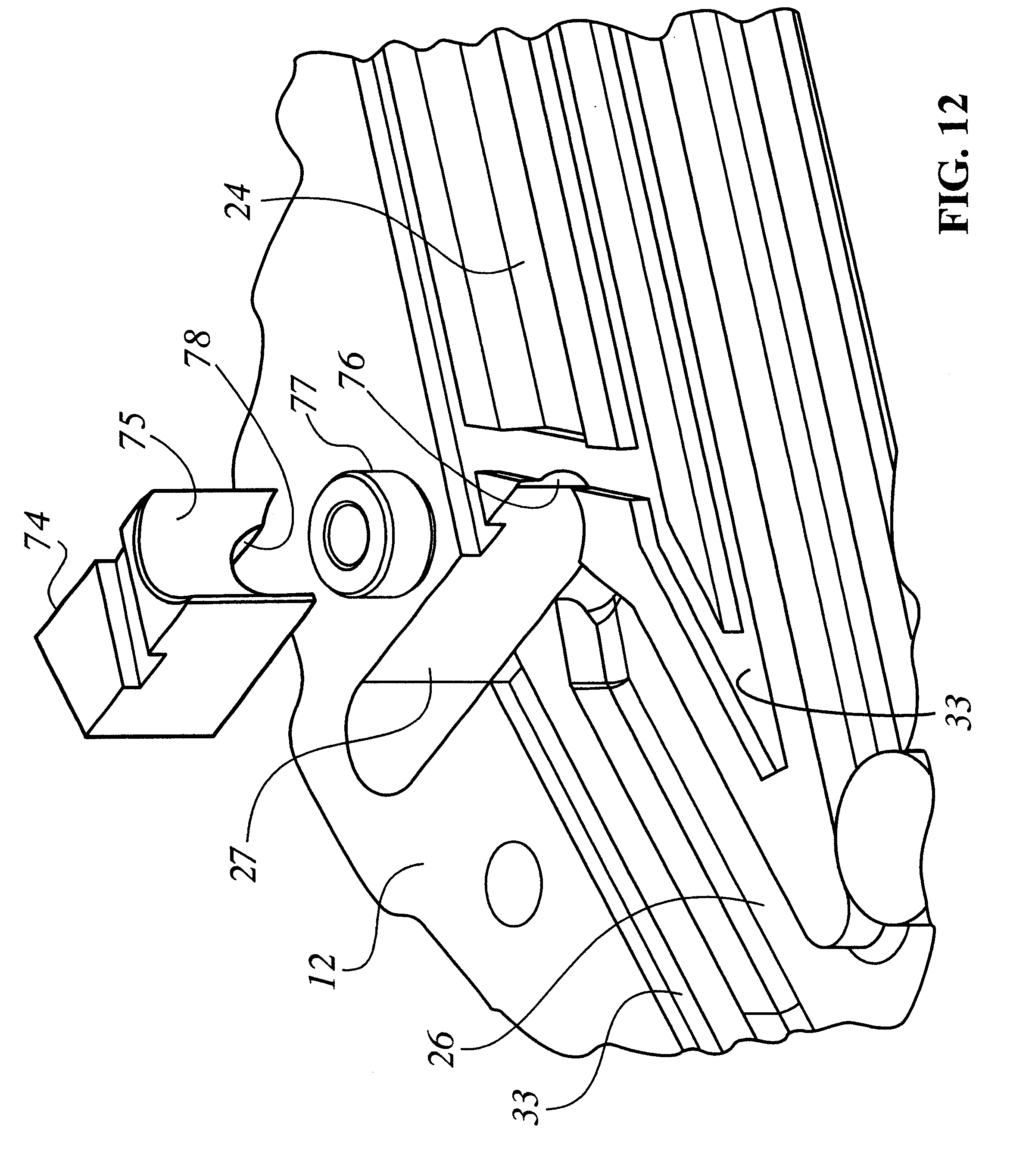 US6481409 on exhaust system supports