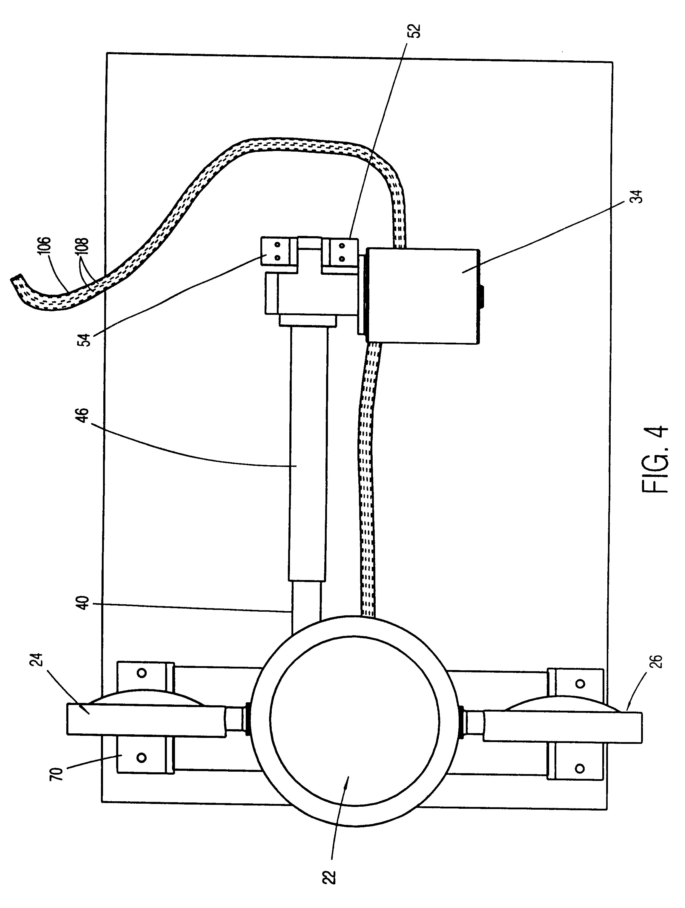 Us6484456 Telescoping Mast Assembly Unitrol Touchmaster Wiring Diagram Patent Drawing