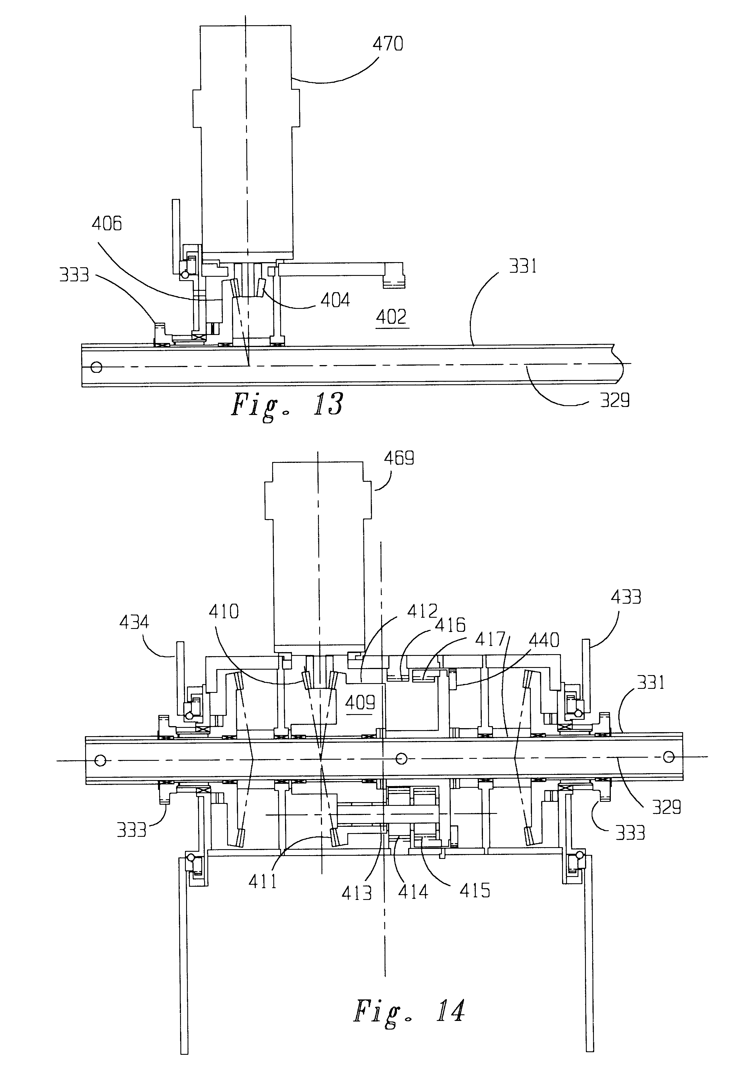 Patent Us6484829 Battery Powered Stair Climbing