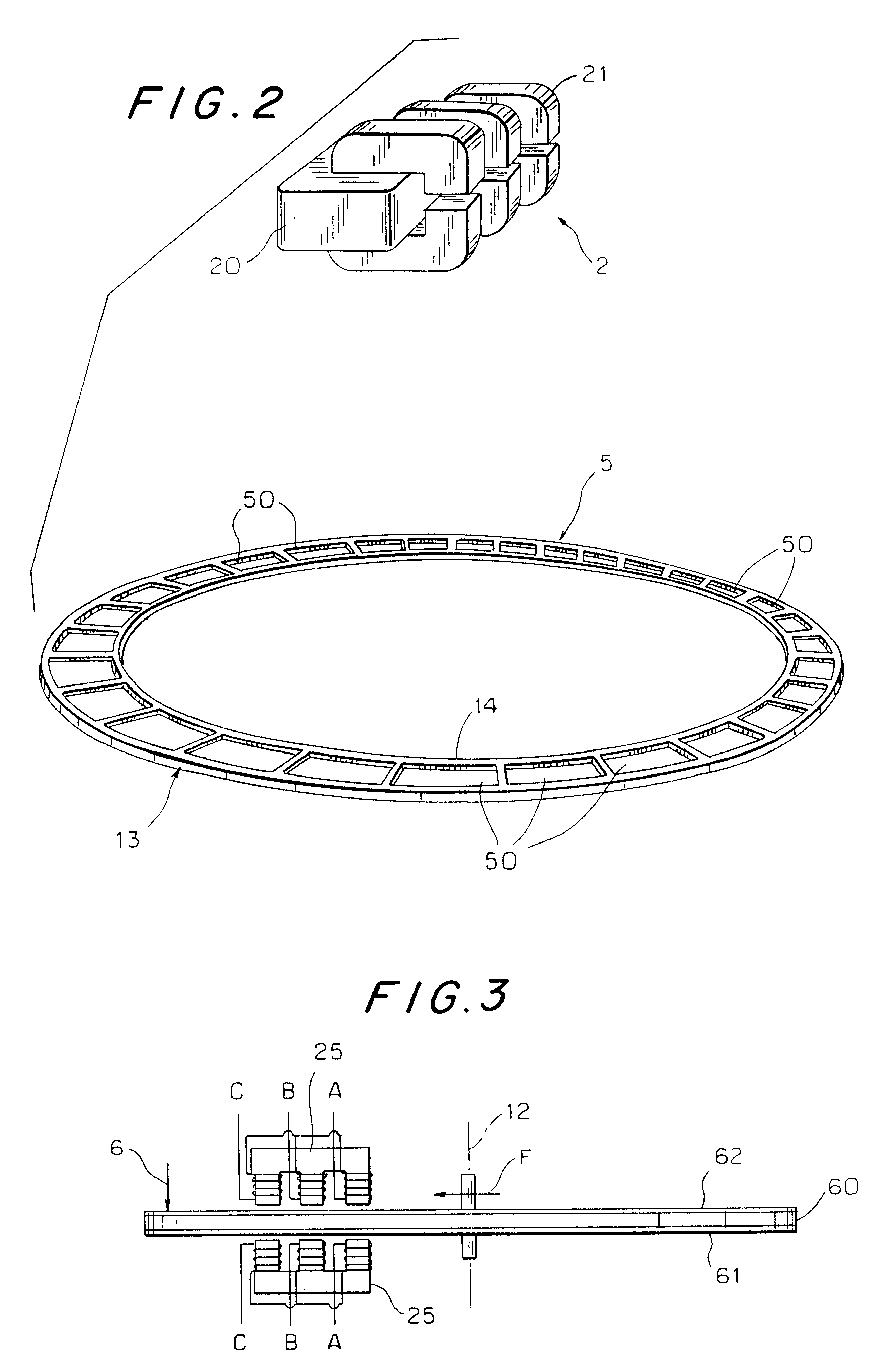 Patent Us6486582 Dynamo Electric Machine Rotating By Schematic Diagram Of Disk Drawing