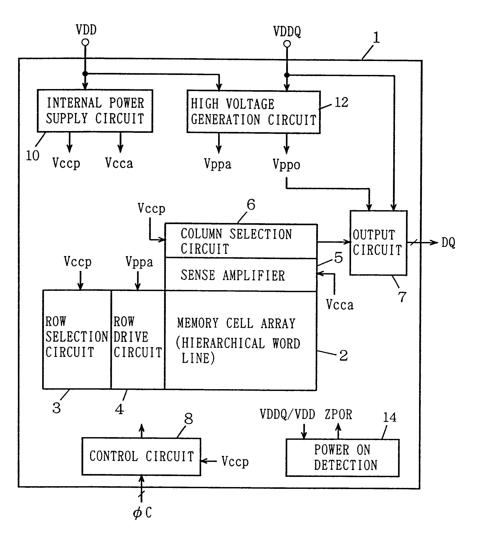 Patent Us6492863 Internal High Voltage Generation Circuit Capable Nand Gate Diagram Powersupplycircuit Drawing
