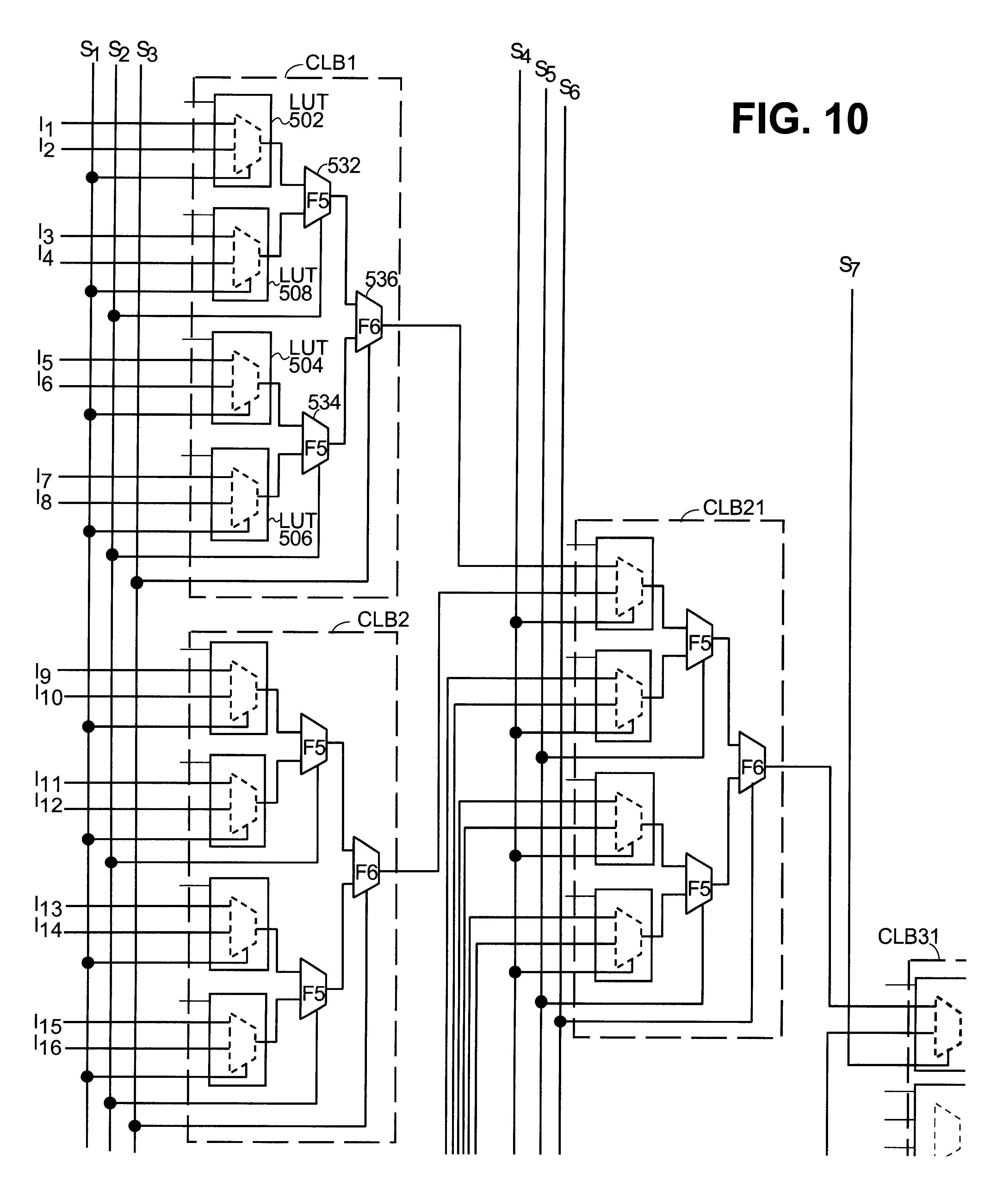 Patent Us6505337 Method For Implementing Large Multiplexers With Logic Diagram Mux Drawing