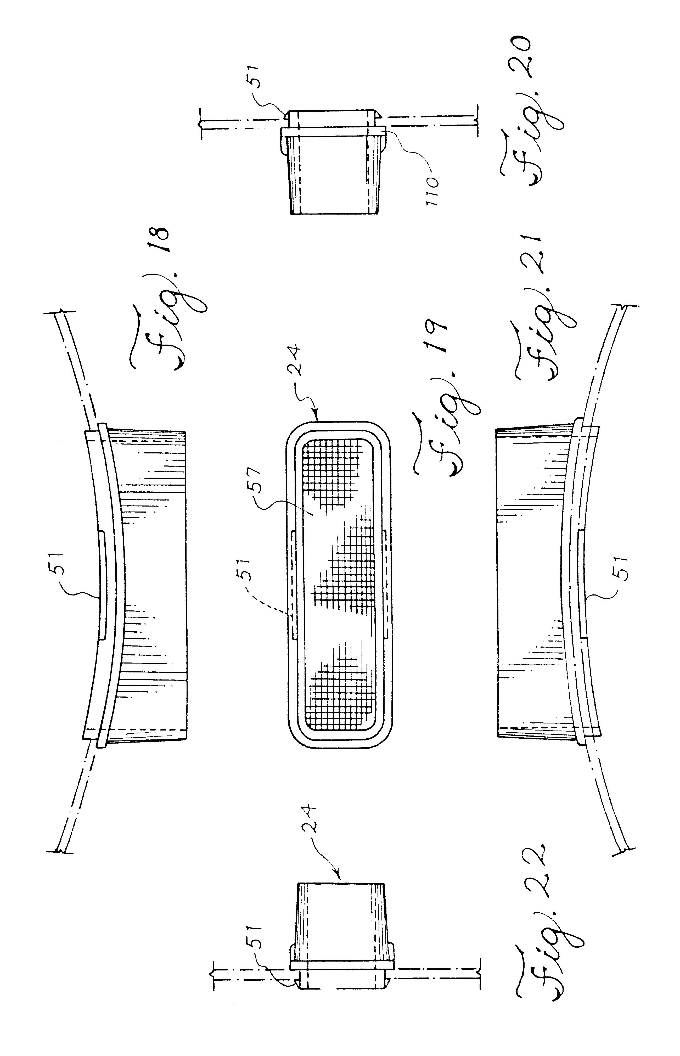 Patent US6505563 - Vented hatch coaming - Google Patents