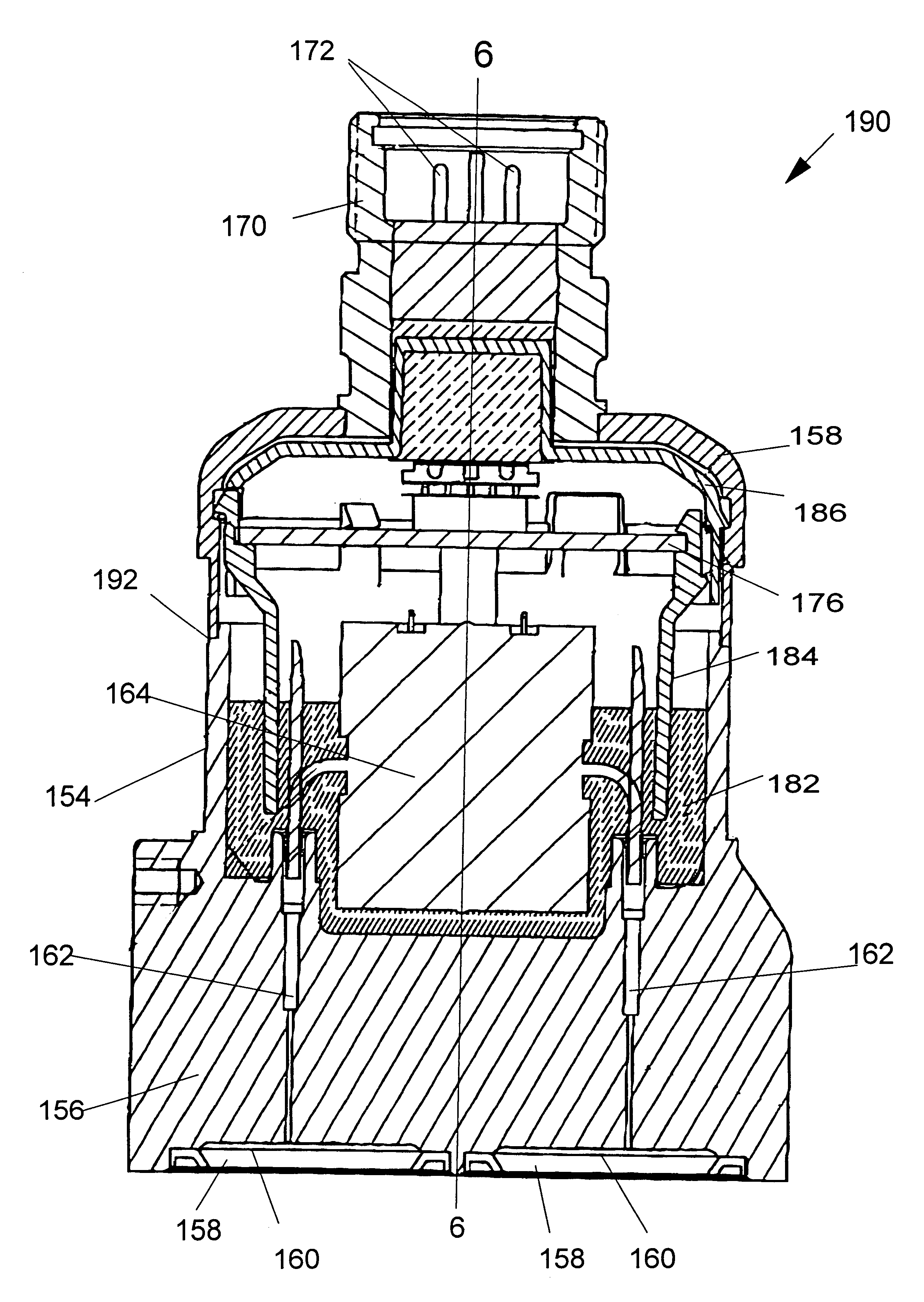 patent us6510740 - thermal management in a pressure transmitter