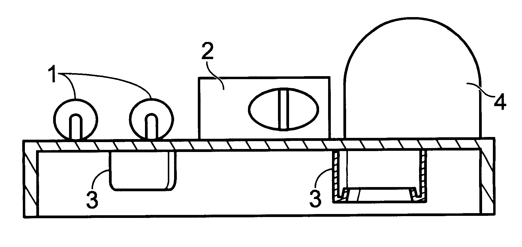 patent us6511202 - light emitting diode 9-volt battery snap flashlight