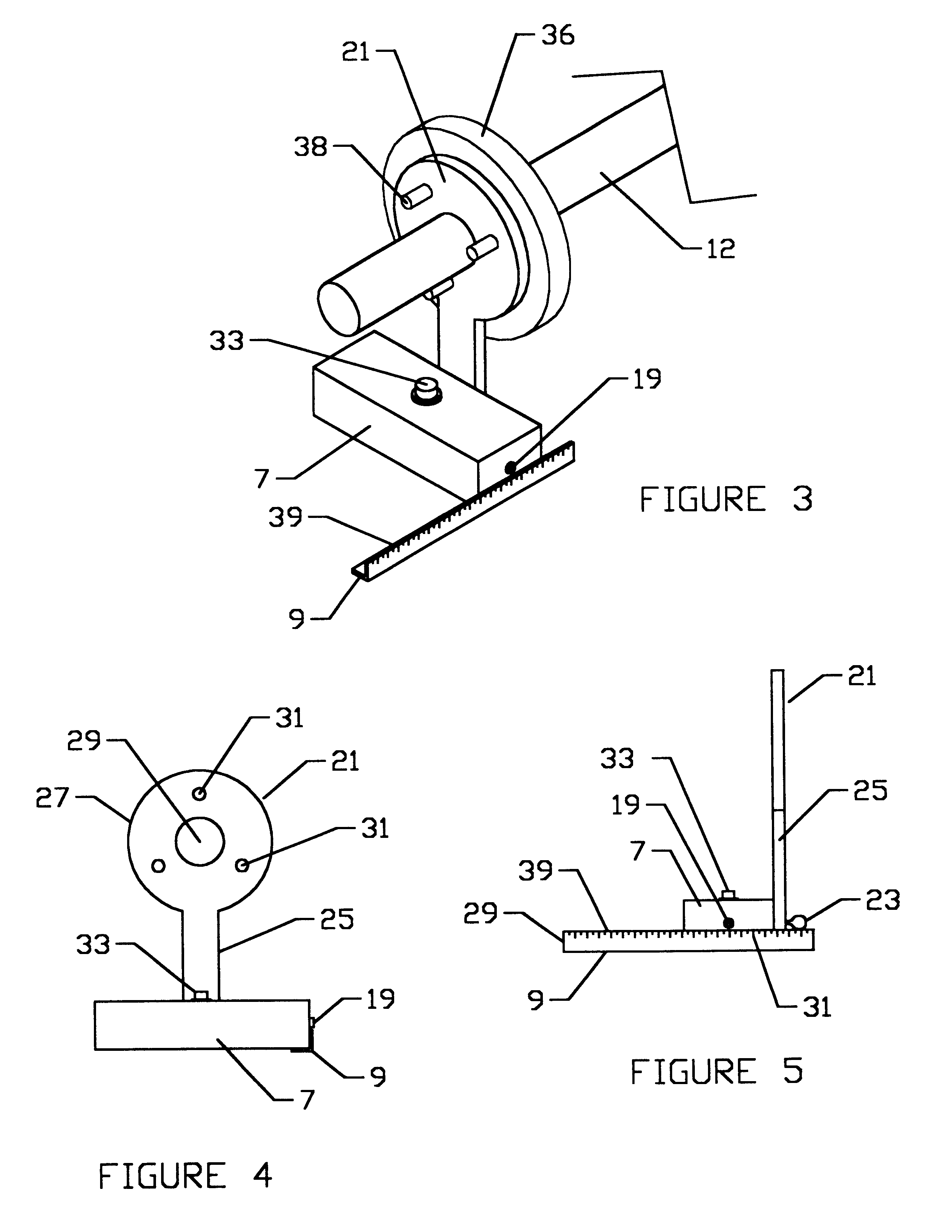 patent us6522400 portable front wheel alignment apparatus and Aluminum Beams patent drawing