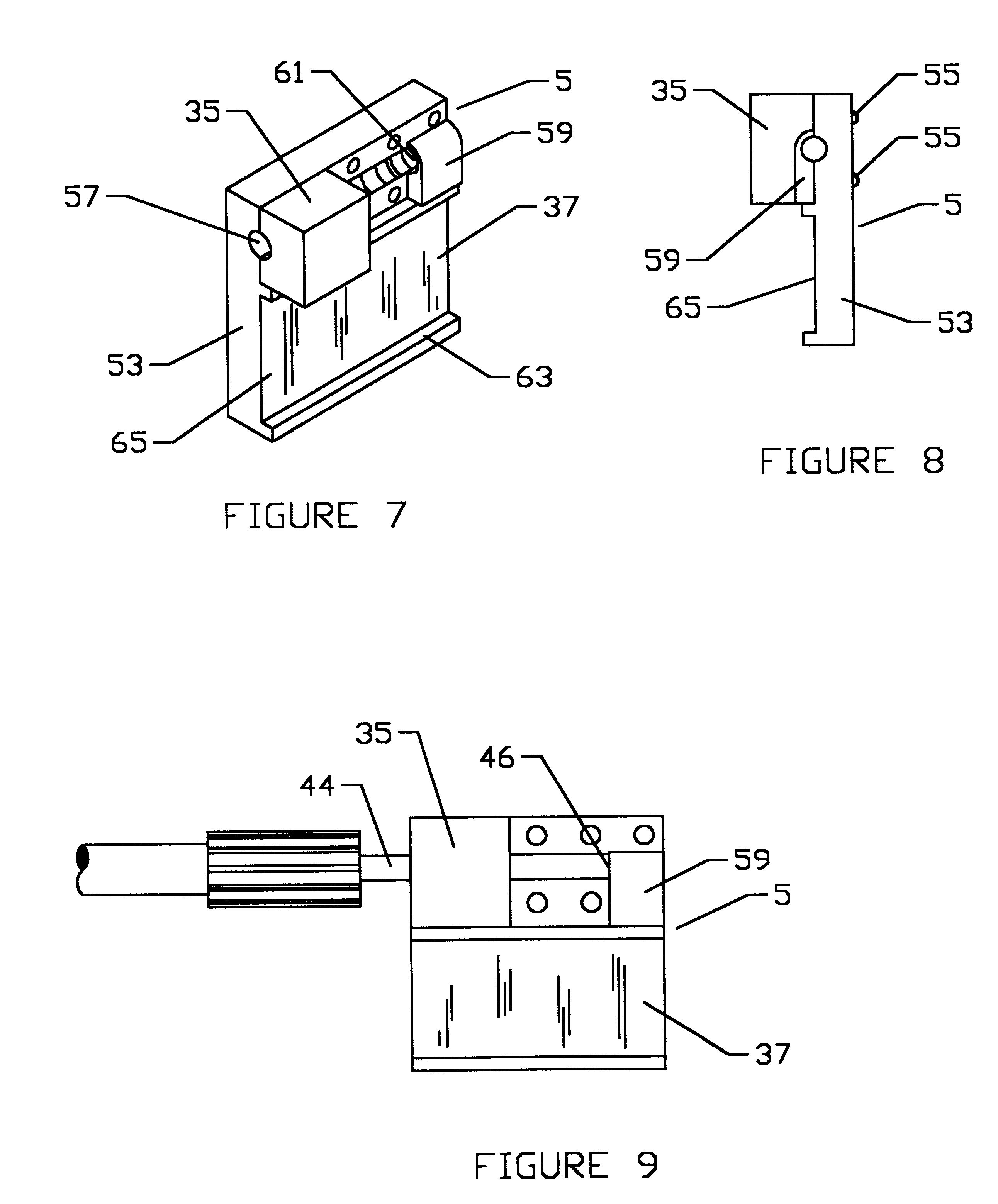 patent us6522400 portable front wheel alignment apparatus and S Beam patent drawing
