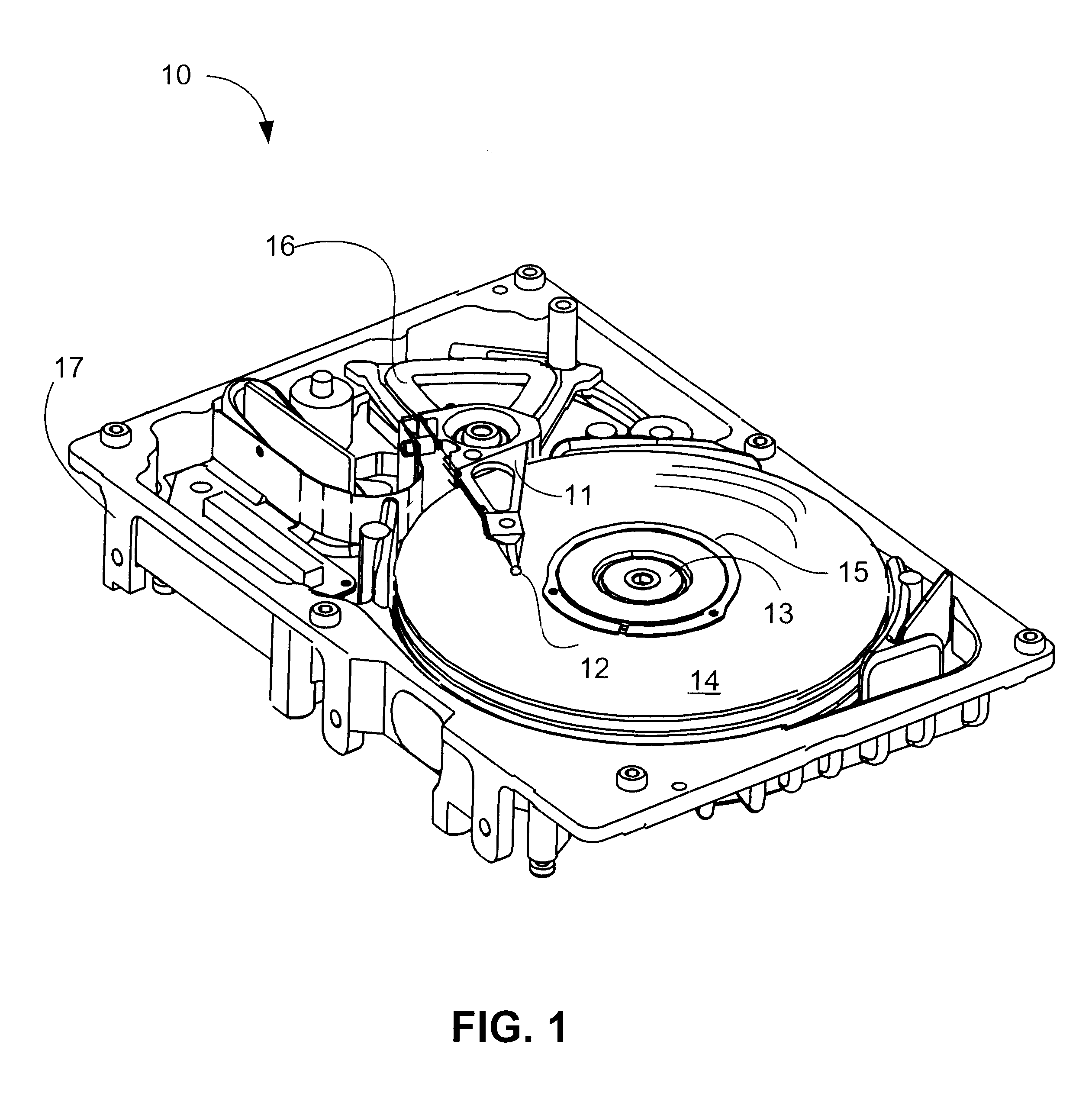 patent us6522498 - magnetic shield for flux leakage reduction from spindle motor