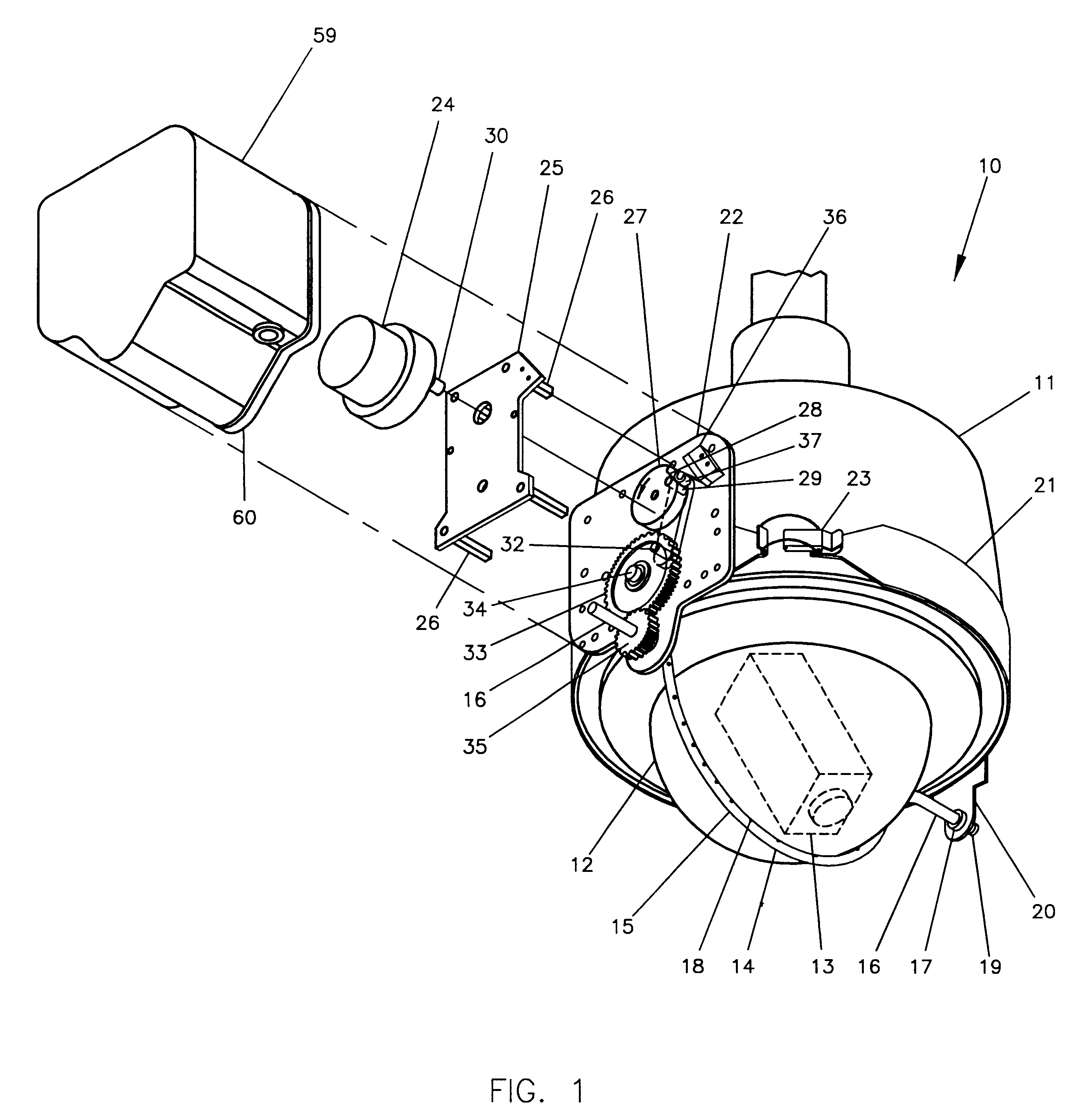 Patent Us6527000 Non Contact Wiper And Washer Assembly