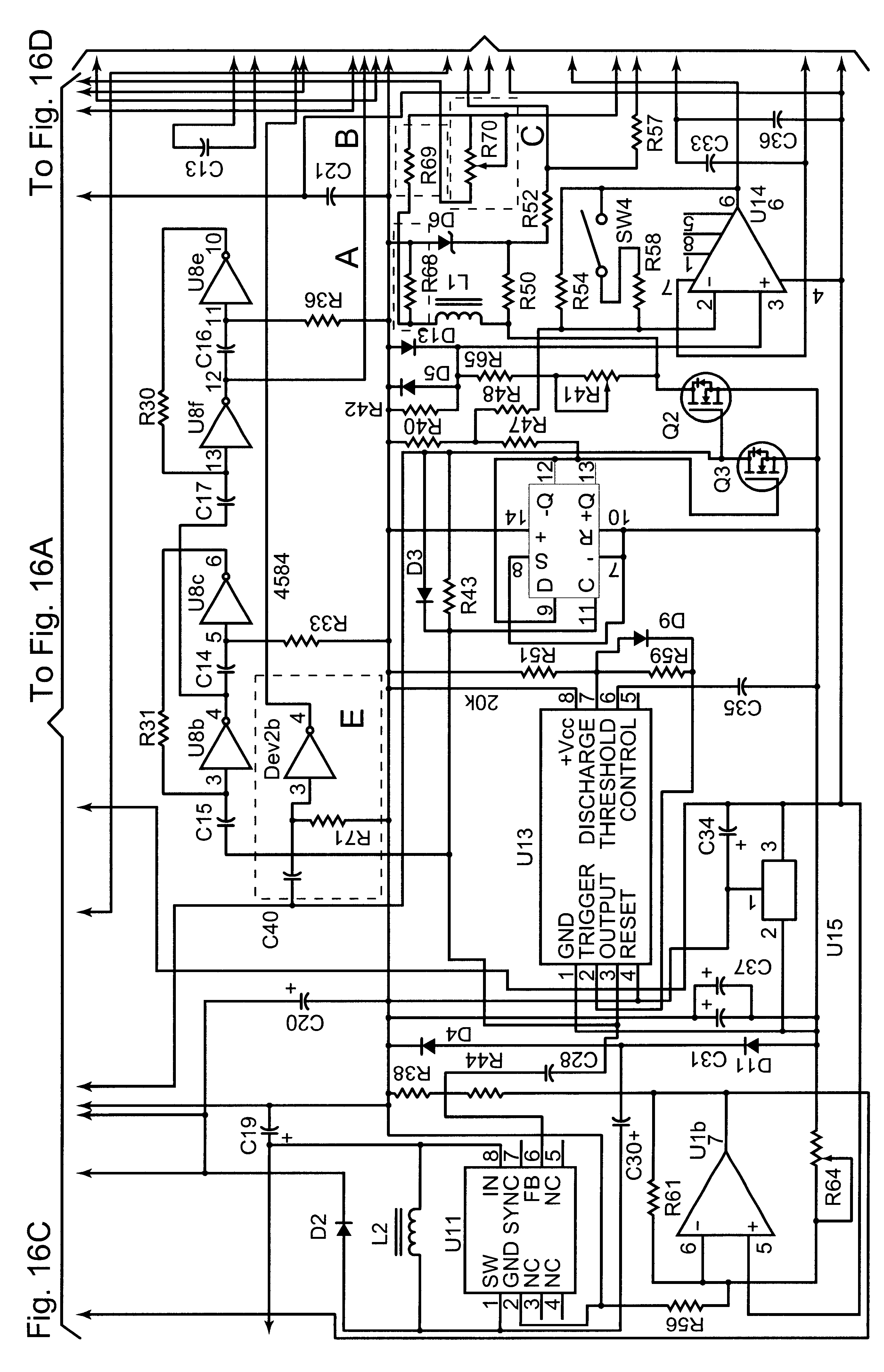 Patent Us6529007 Temperature Compensation For Ground Piercing Beat Balance Metal Detector Electronic Circuit Diagram Drawing