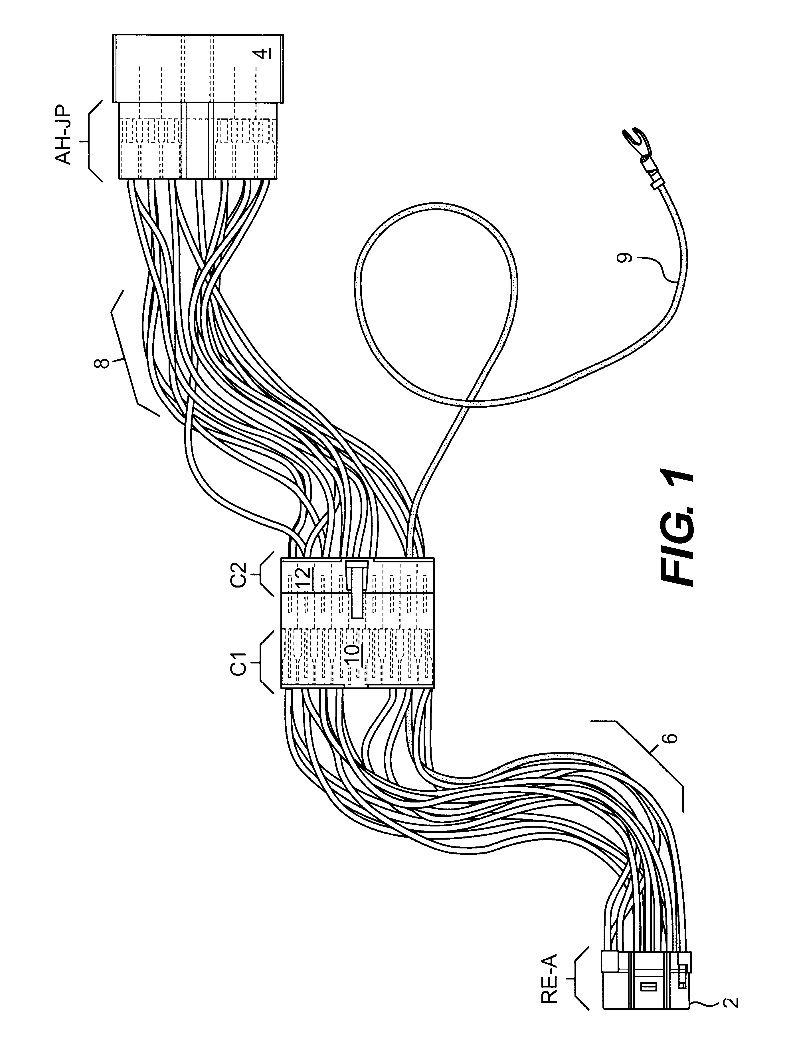 Patent Us6531657 Adapter Wire Harness For Installing