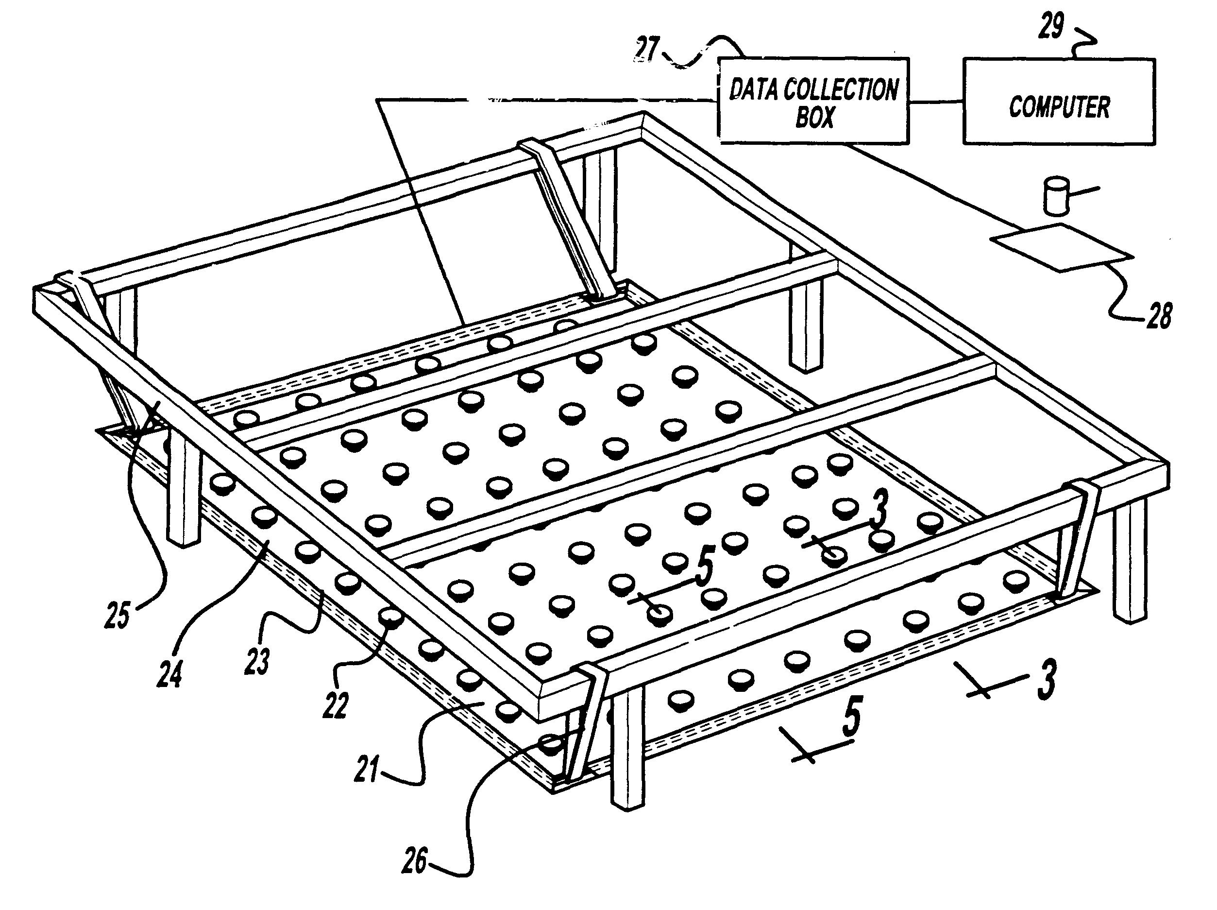 patent us6532190 - seismic sensor array
