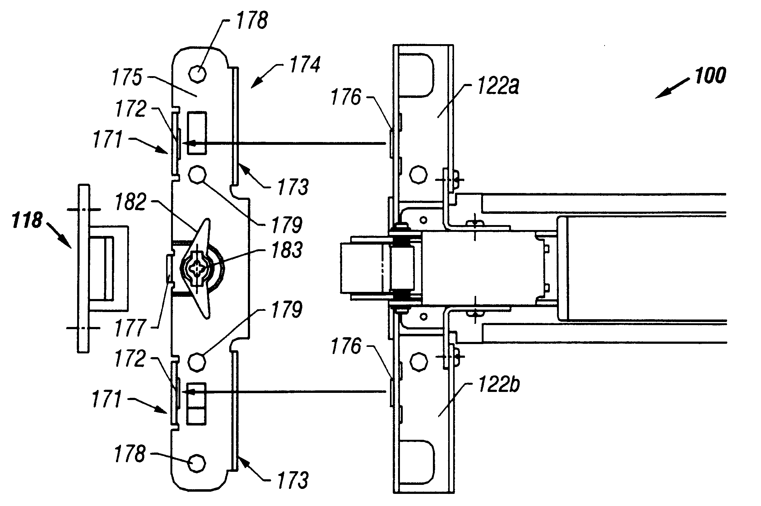 Patent Us6532777 Panic Exit Device Mounting Plate Google Patents