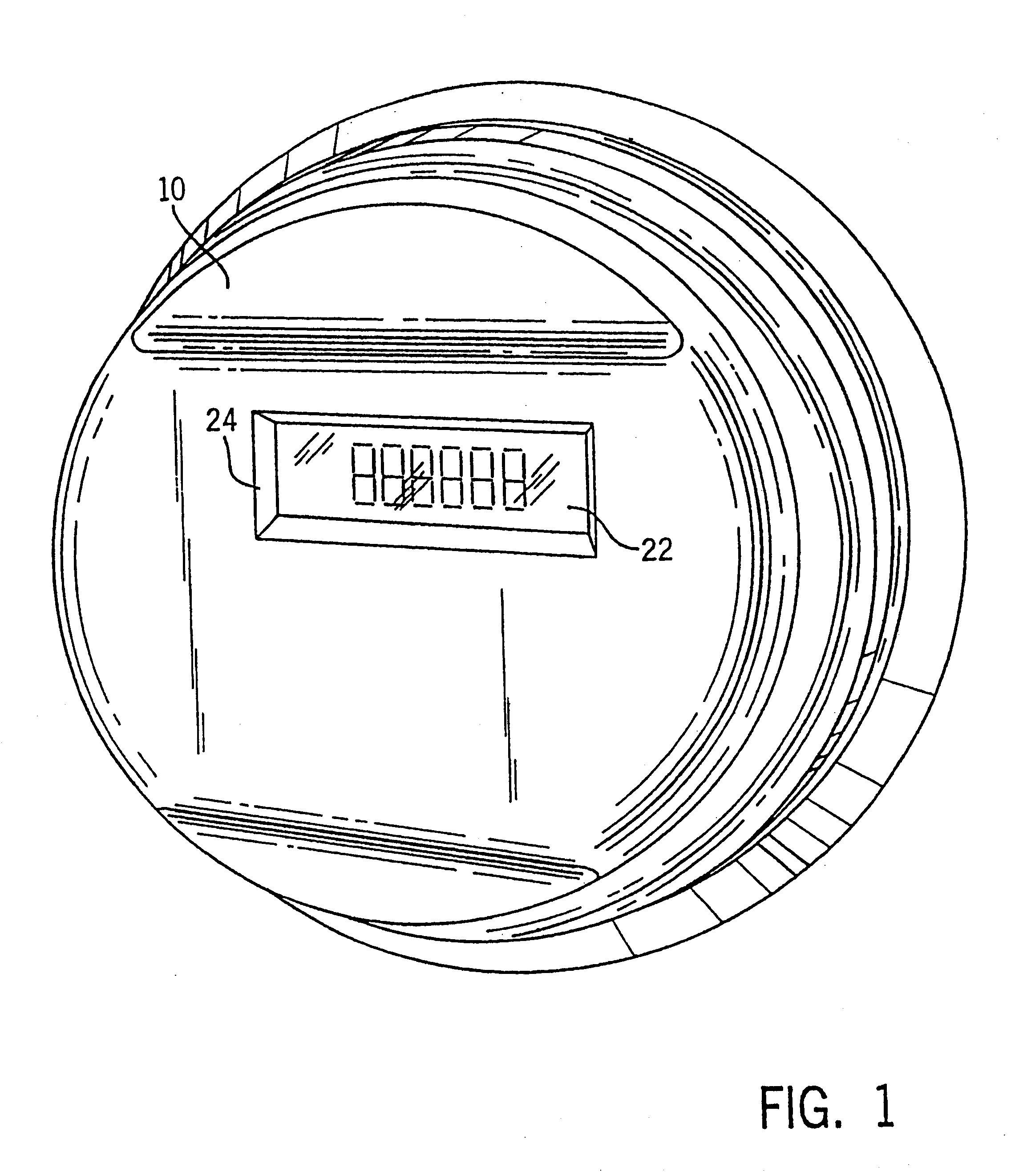 patent us6538577 - electronic electric meter for networked meter reading