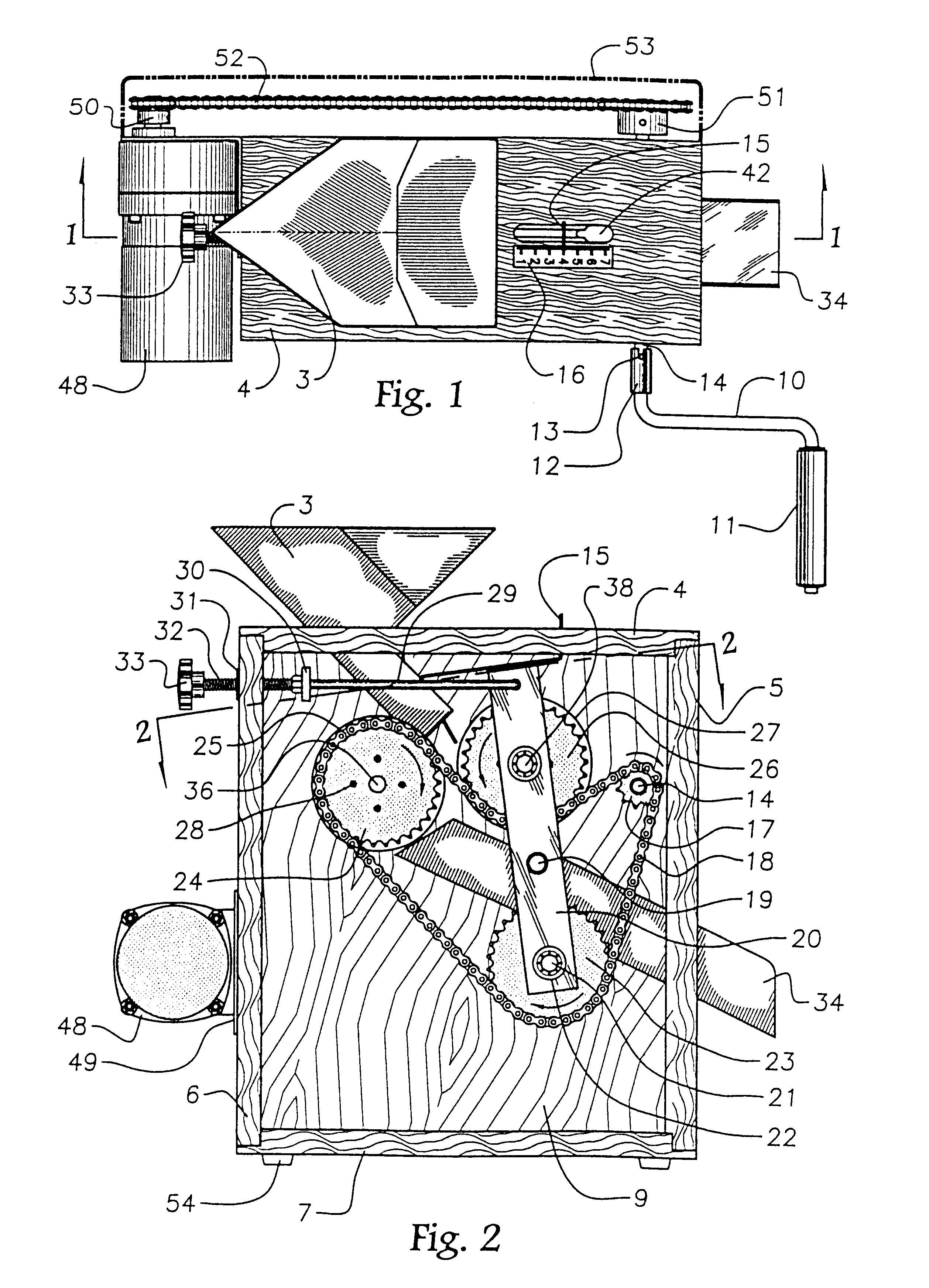 patent us6541057 apparatus for shelling nuts google patentsuche
