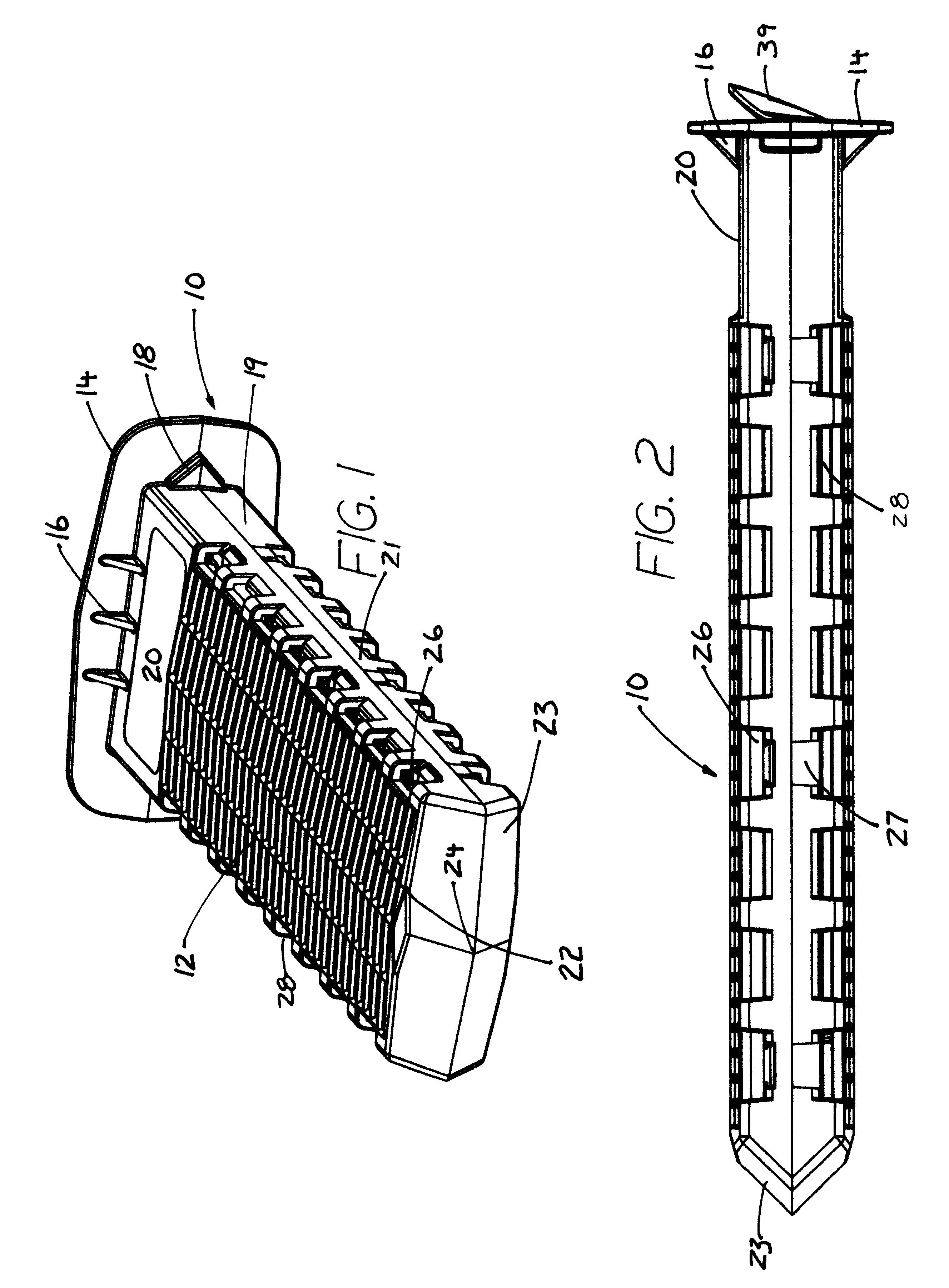 Patent Us6550182 Implantable Aerating Root Pruner
