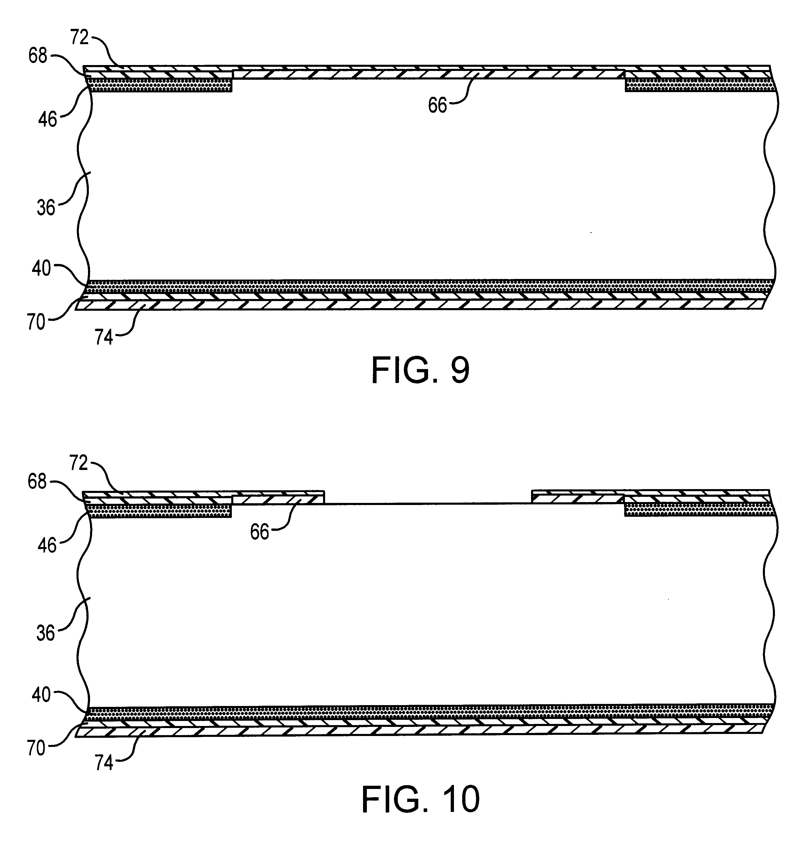 Patent US6555440 - Process for fabricating a top side pitted