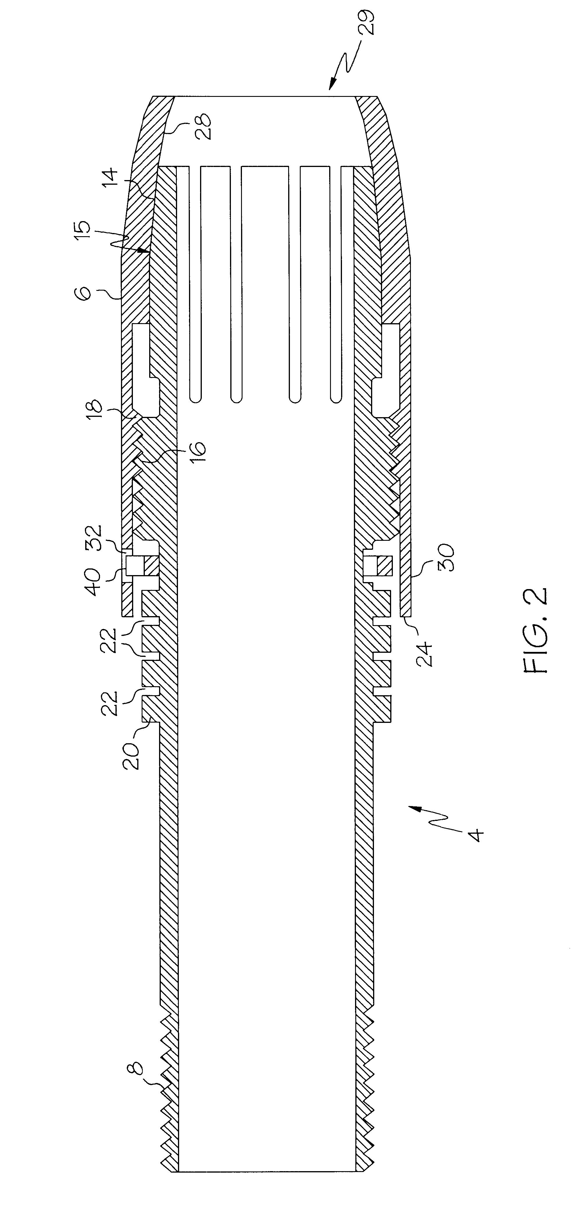 Patent US6557290 - Adjustable shotgun choke - Google Patents