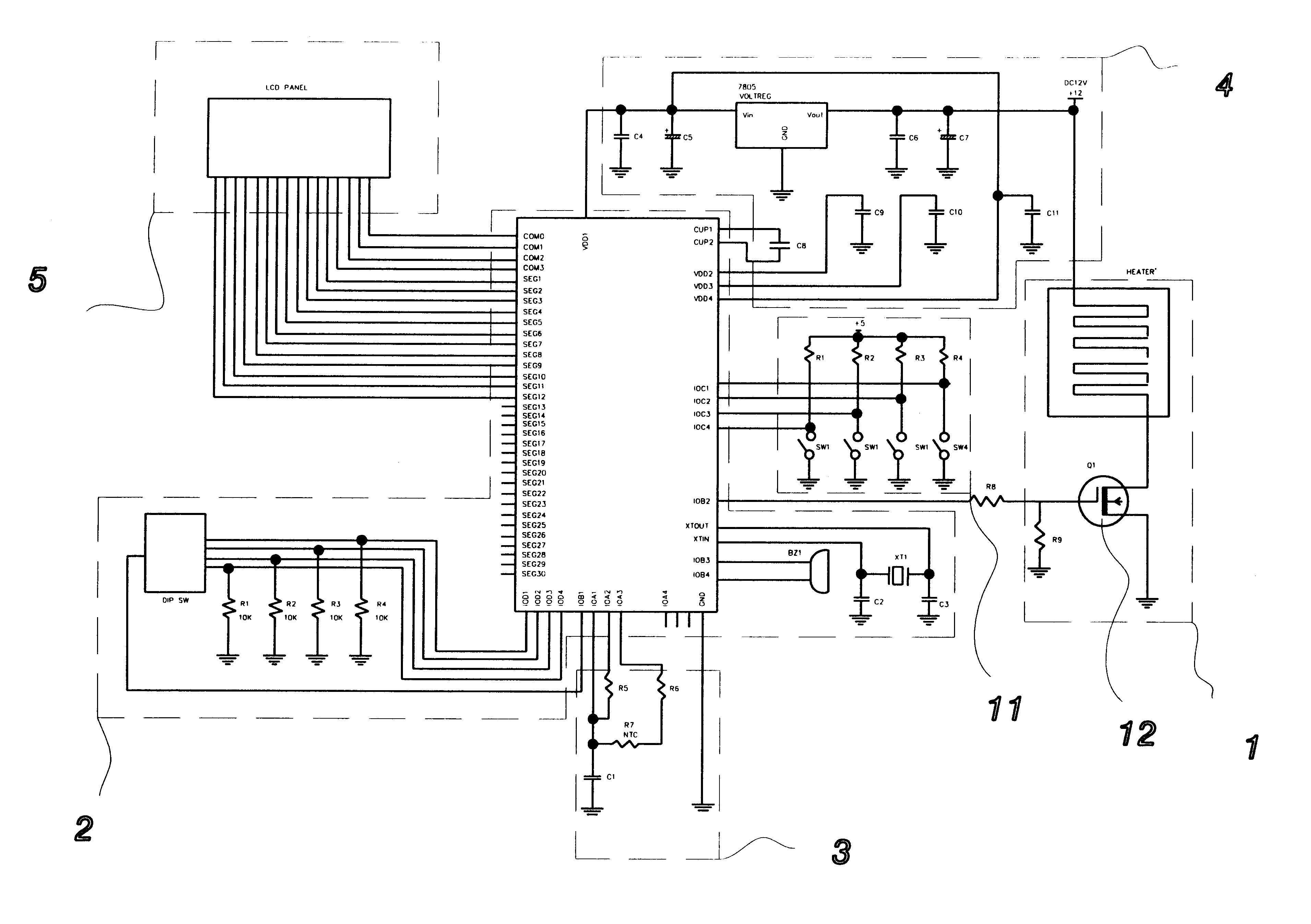 Patent Us6563090 Electric Heating Blanket Control